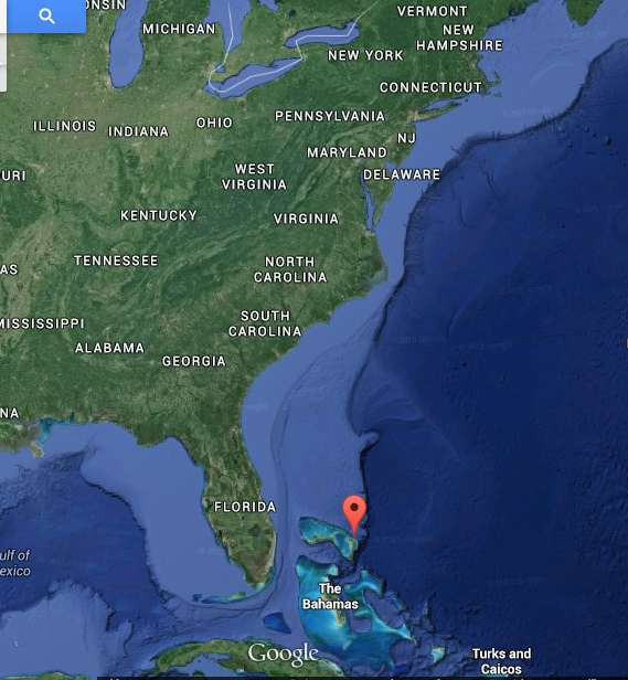 The red dot is showing where the trip will start from.
