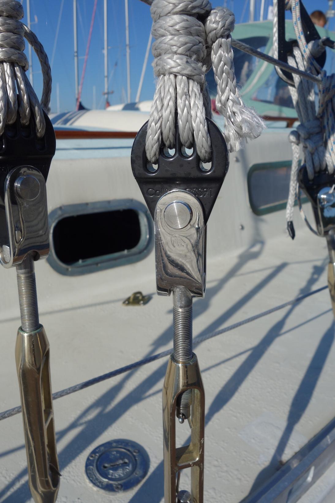 Hayn bronze turnbuckles (new 2013).