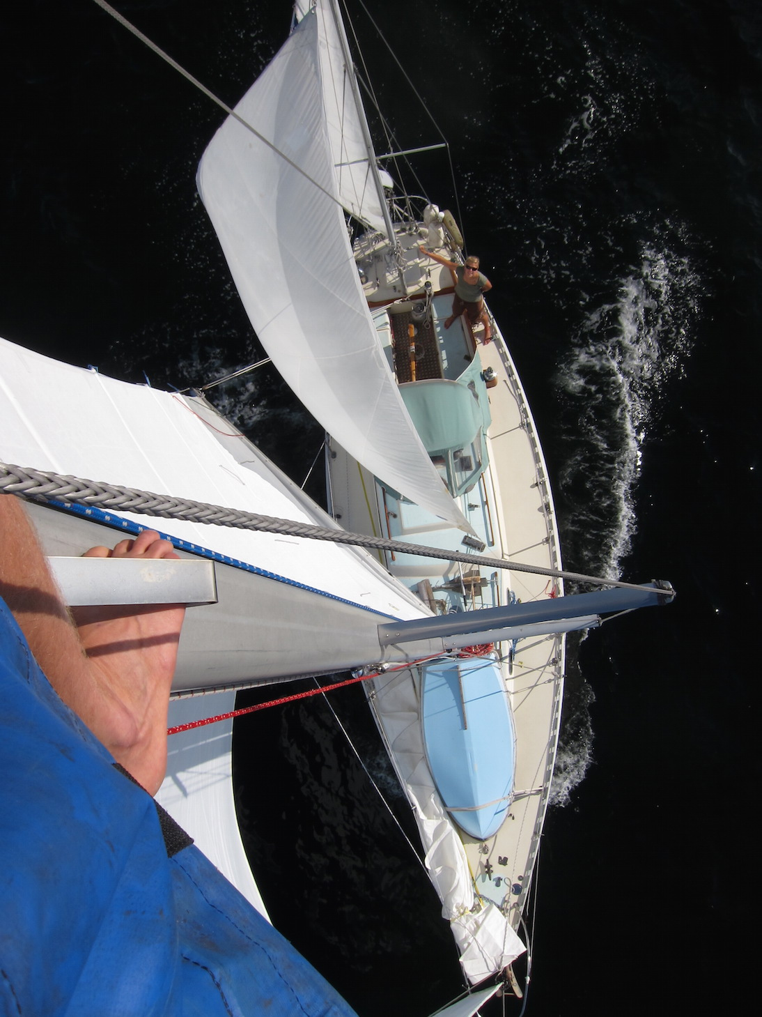 Arcturus under full sail in the Baltic, 2012. Scroll down for more photos at the end of the post.