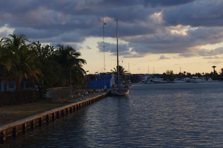Customs dock at Marina Hemingway