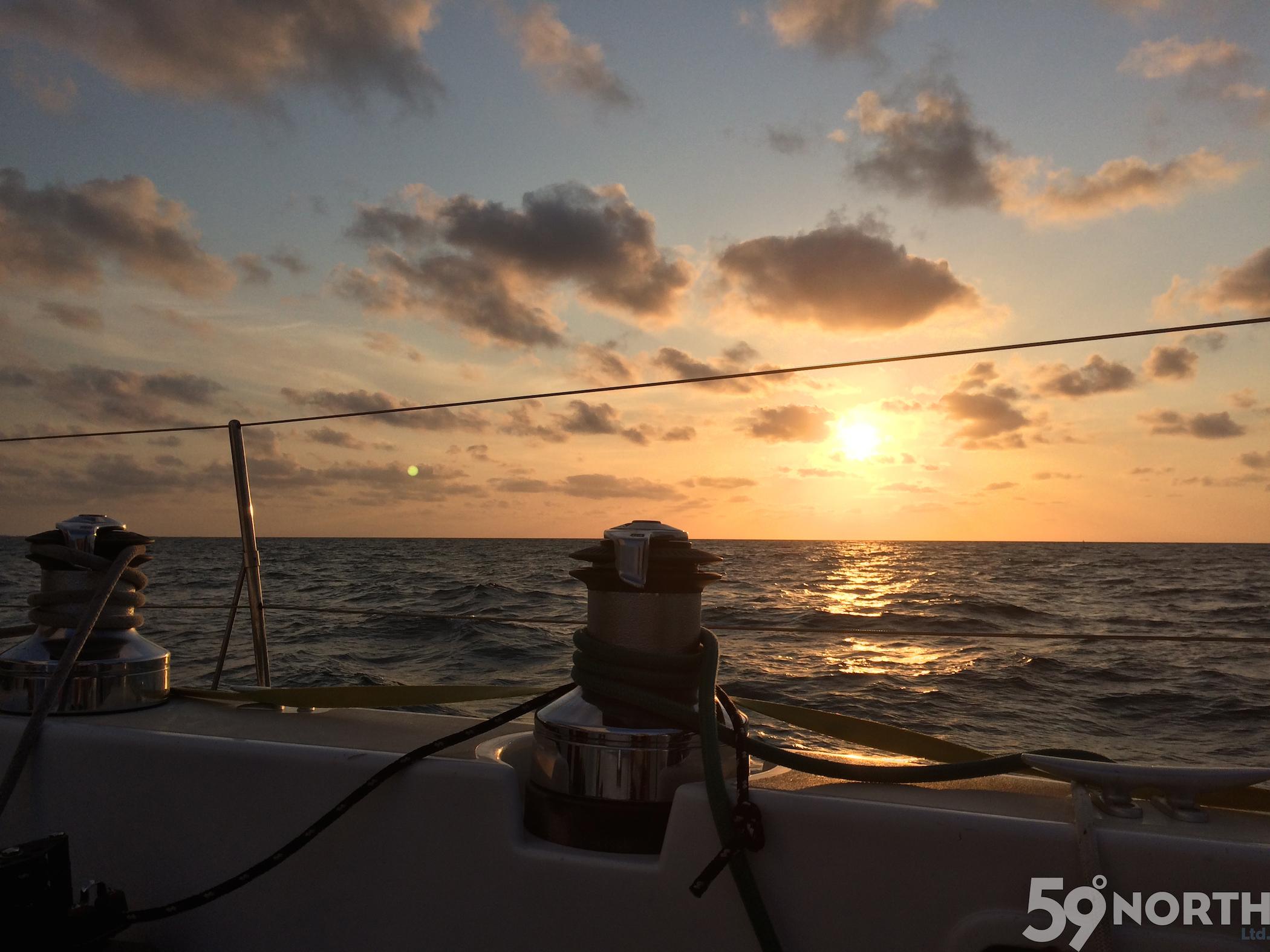 Last sail from Havana to Key West!