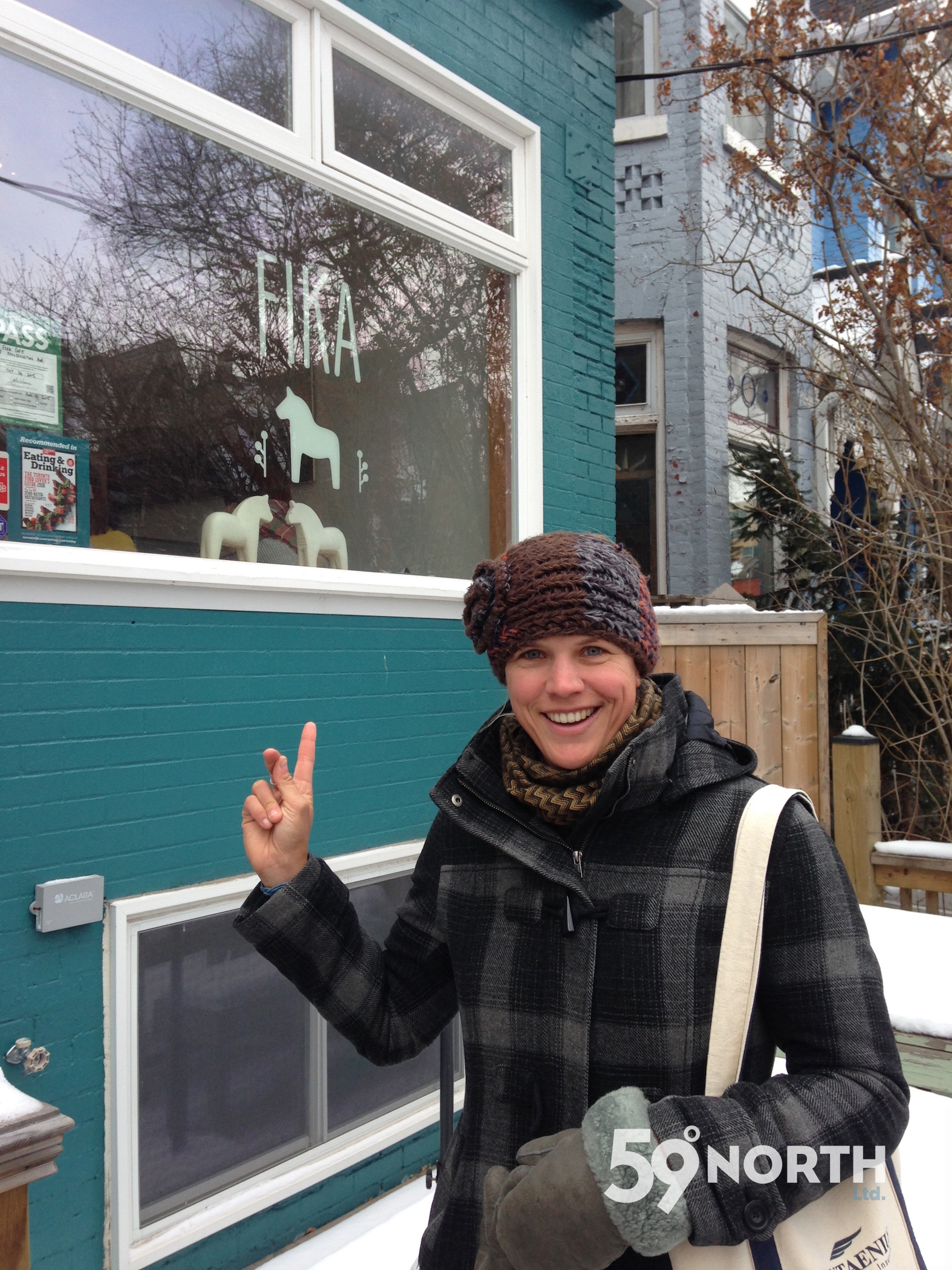 A visit to Toronto in the beginning of January for the boat show! Stopped for a 'fika' in Kensington Market. Jan 2016