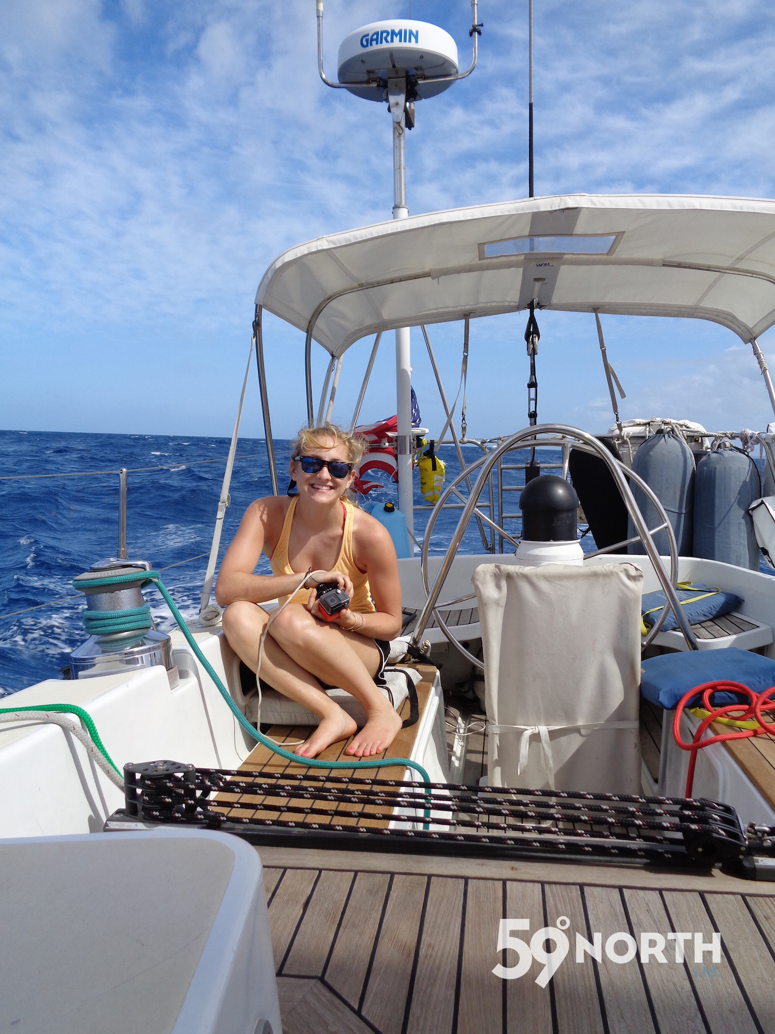 Our intern Liz joined Isbjorn for the first time in Antigua, and sailed with us to Puerto Rico via St. Martin. March 2016