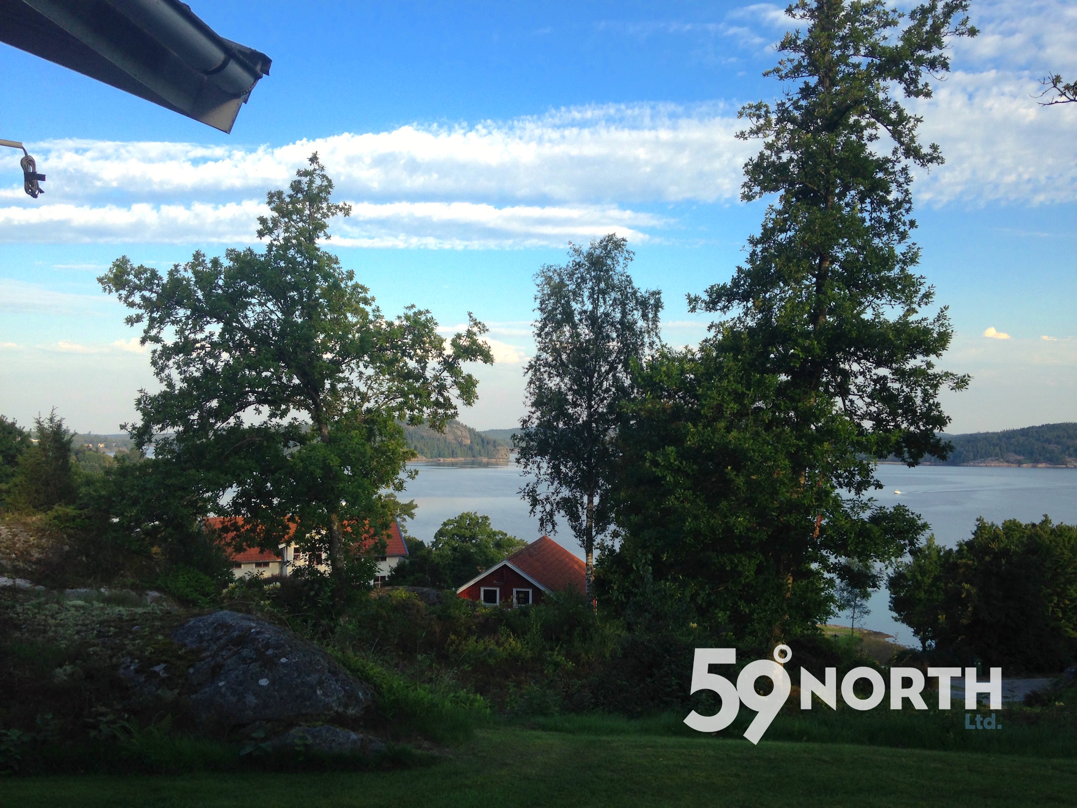 Big thanks to the Ronge family for hosting us during the Hallberg-Rassy 'Öppna Varv' on the West Coast of Sweden. Morning coffee with this view for almost a week! Aug. 2016