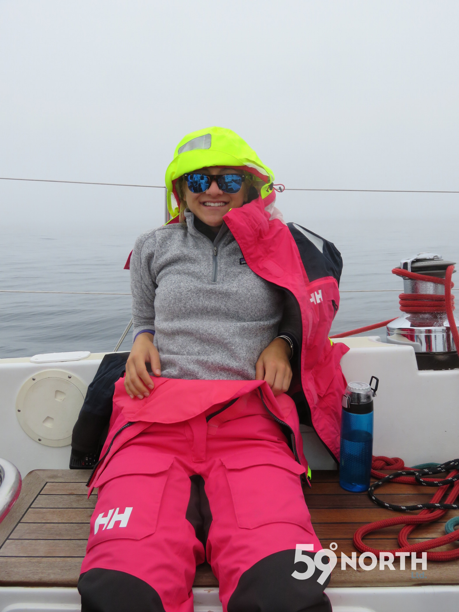 our intern Liz joined us in Annapolis to sail north to Lunenburg with Isbjorn. July 2016