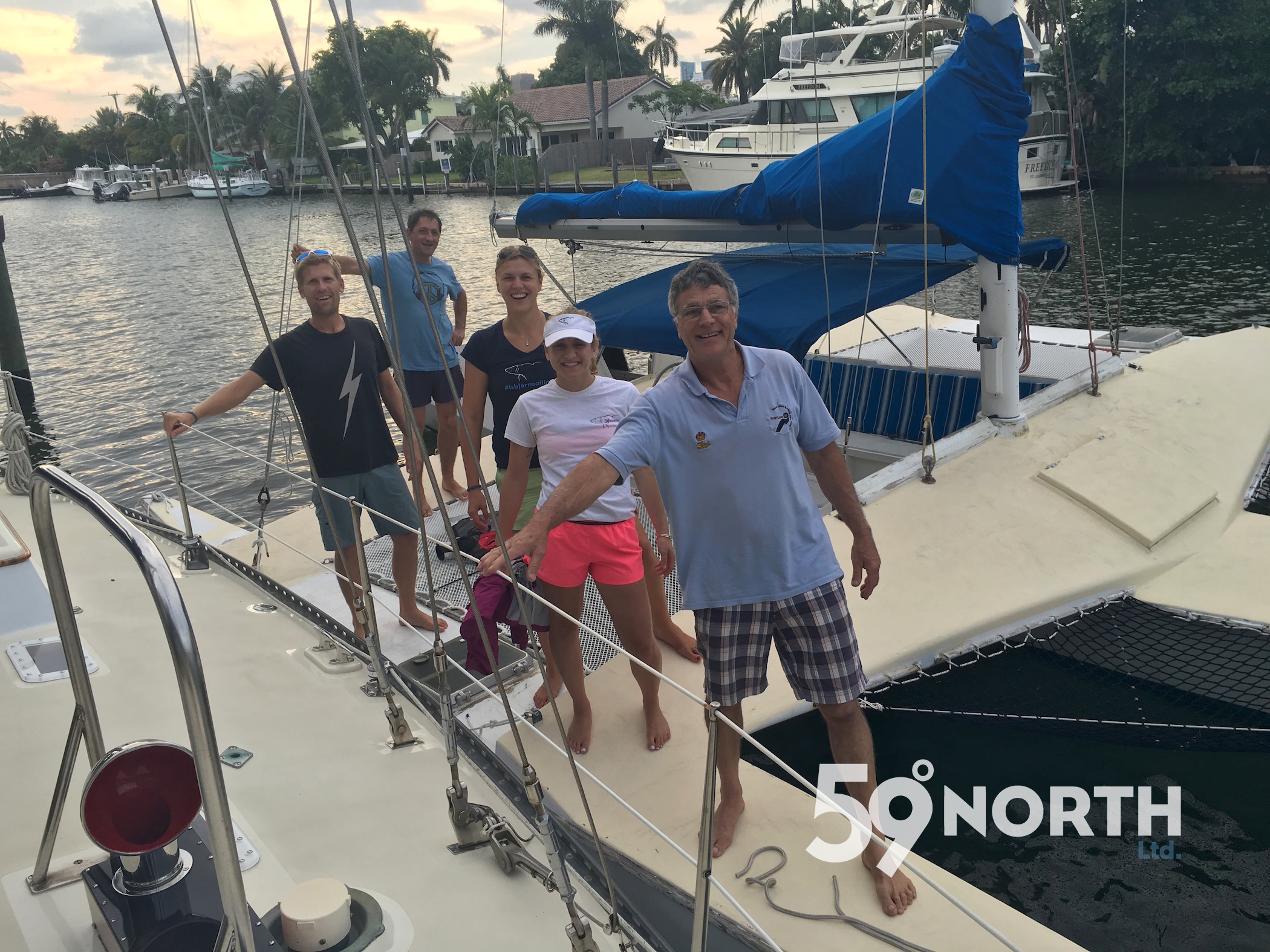 Visited our friend Pam Walls for a few days in Ft. Lauderdale, went our on an afternoon sail with Etienne from ATN inc. March 2016