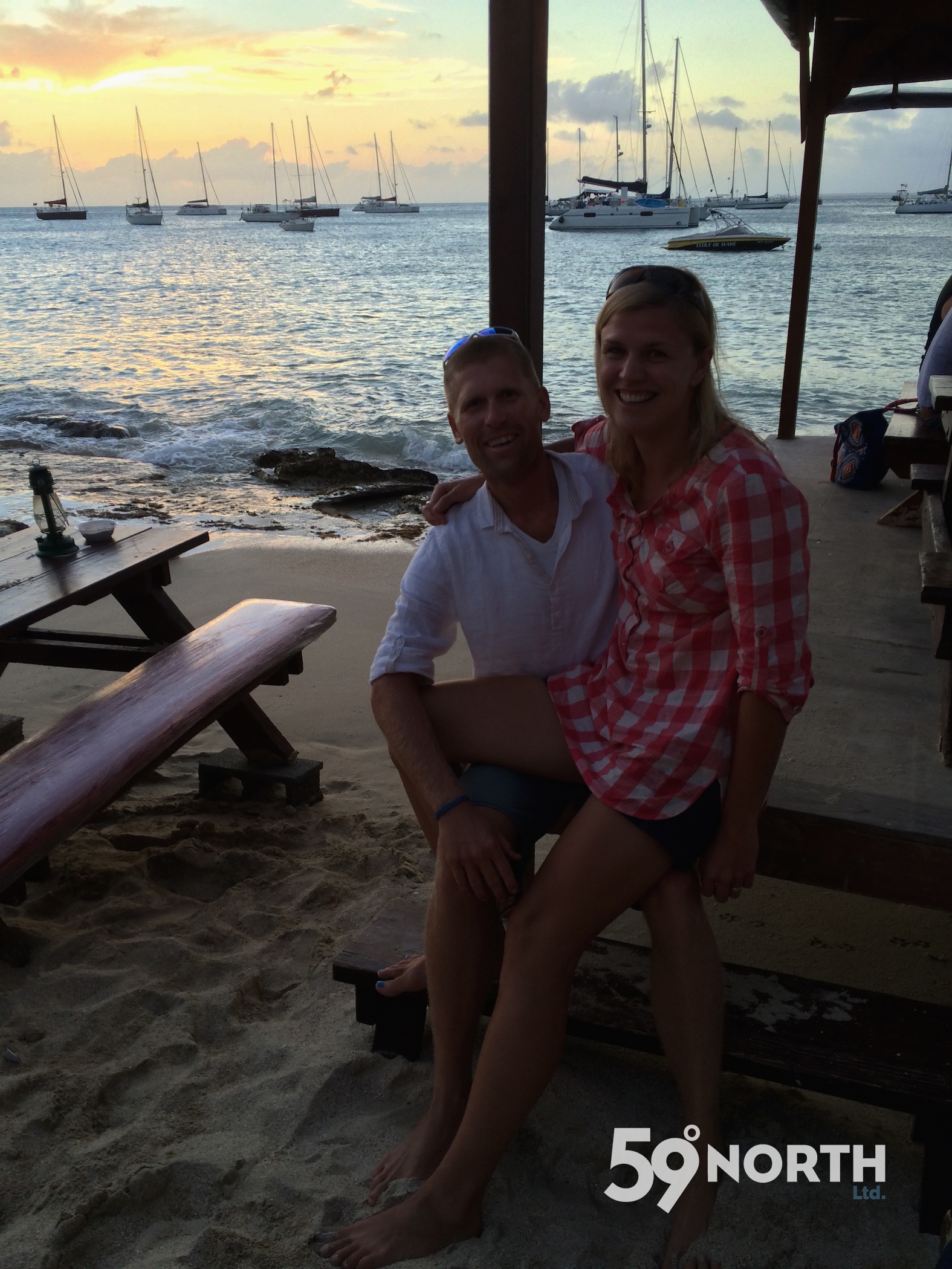 Back in Grand Case, St. Martin. We haven't been here since our Broadreach days in 2009! March 2016