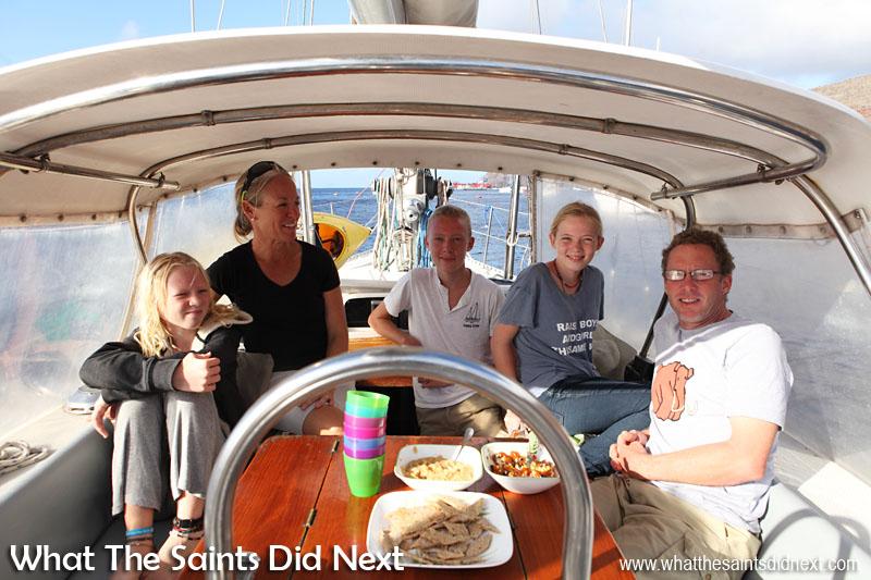 St Helena 2016, credit Darrin Henry- www.sailingtotem.com - 'On the Wind' Sailing Podcast: Episode #175