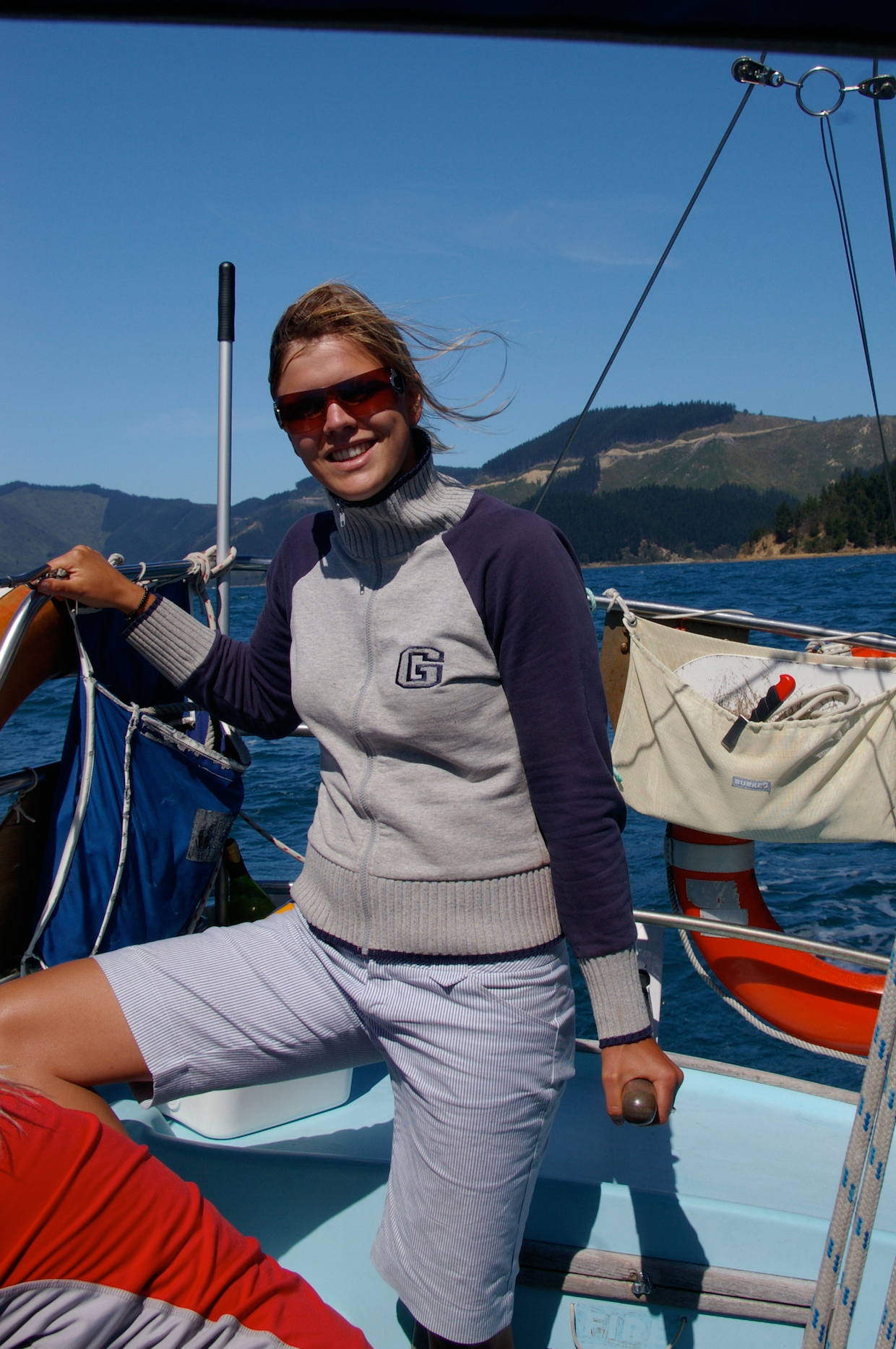 Sailing in New Zealand 10 years ago!