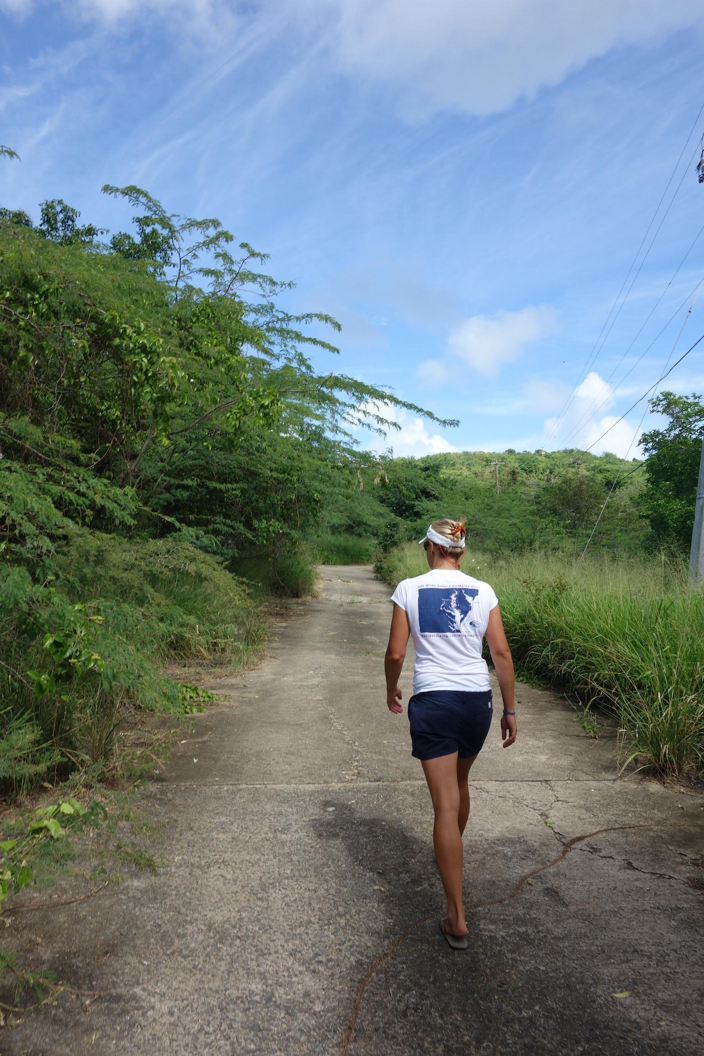 Exploring Culebra last winter