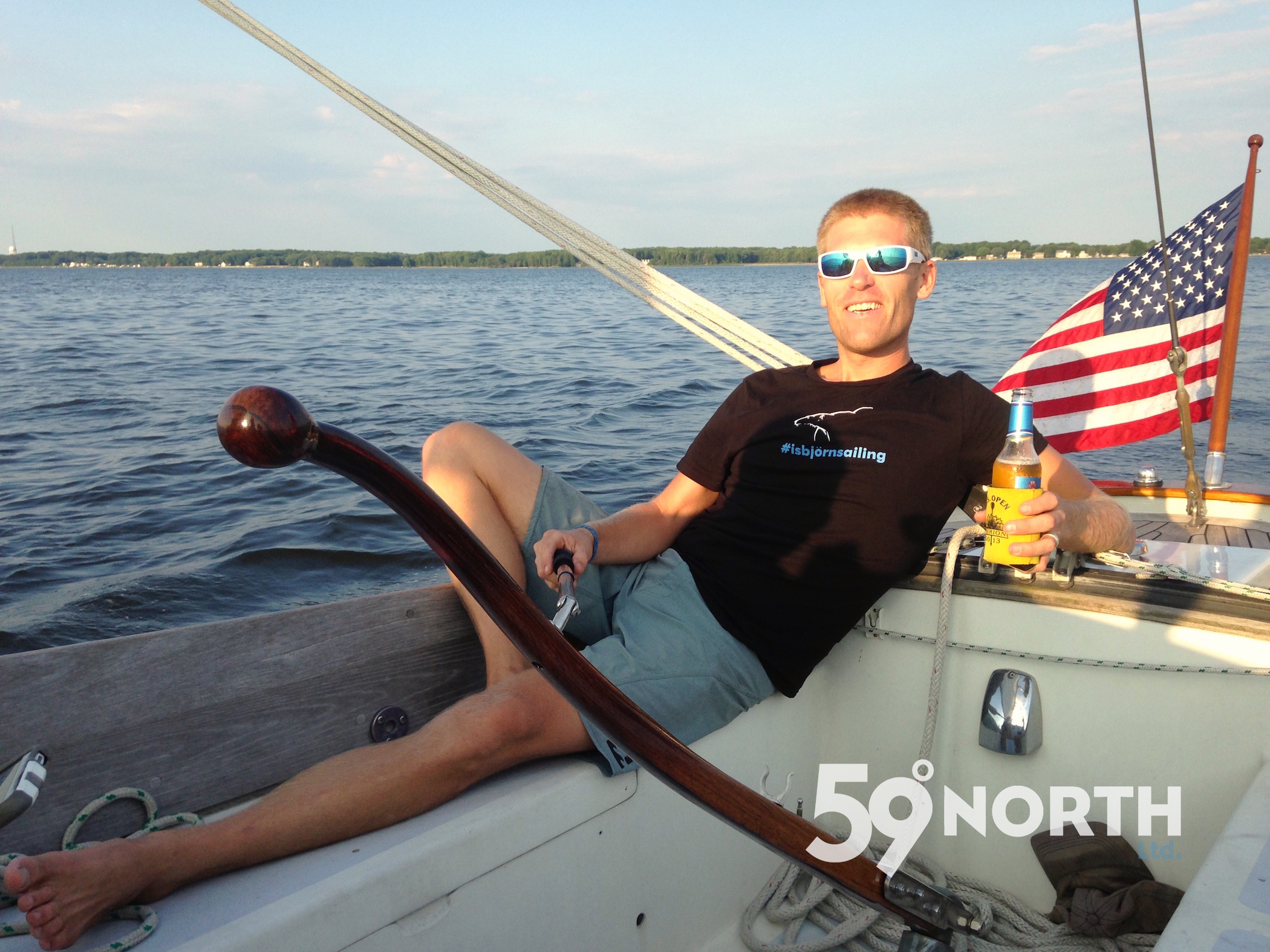 Such a nice evening on s/v Entropic, sunset sail with our friend Micah and intern Liz. June 2016