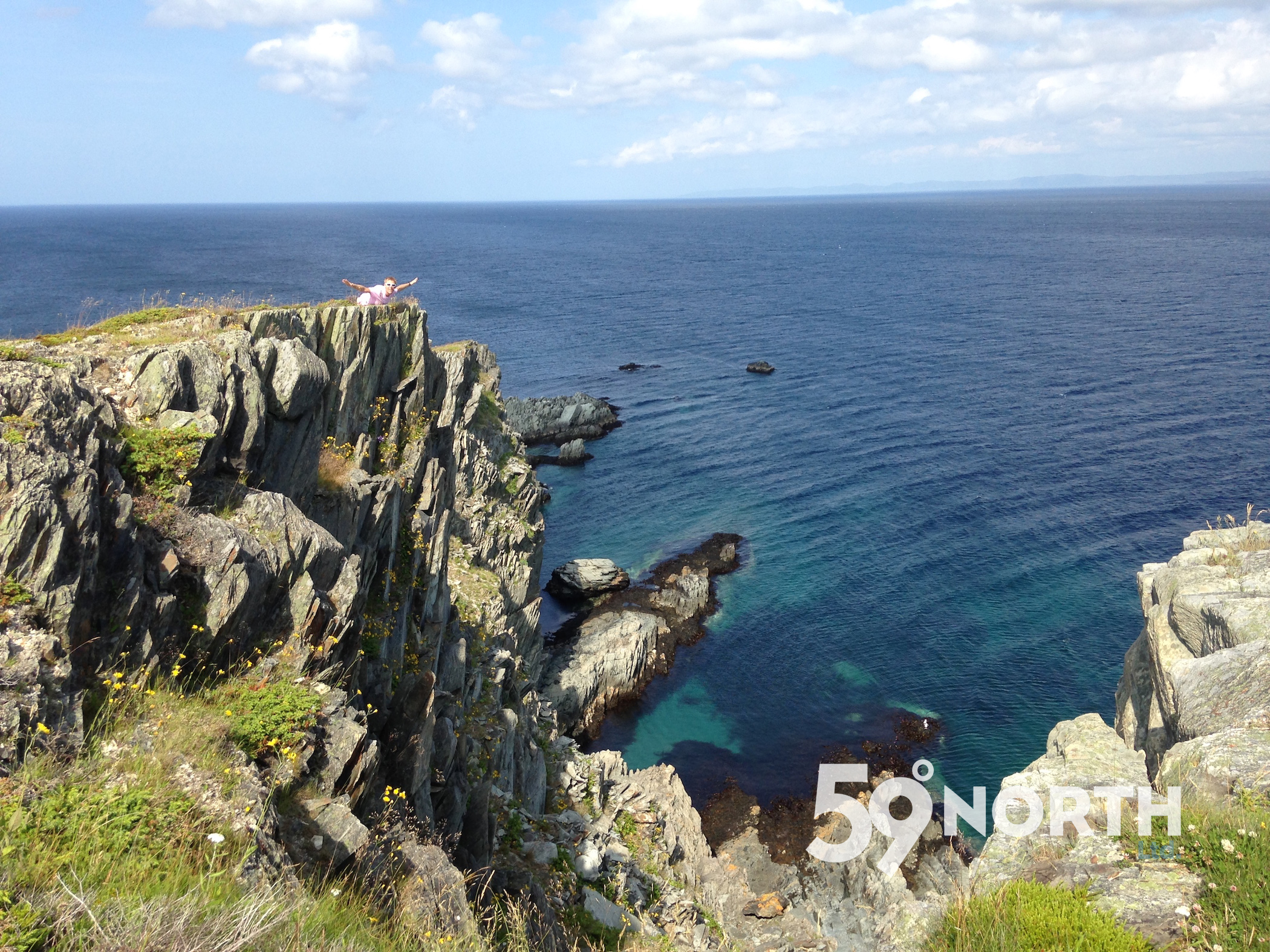 Hiking around Mad Rock during our visit to Newfoundland! July 2016