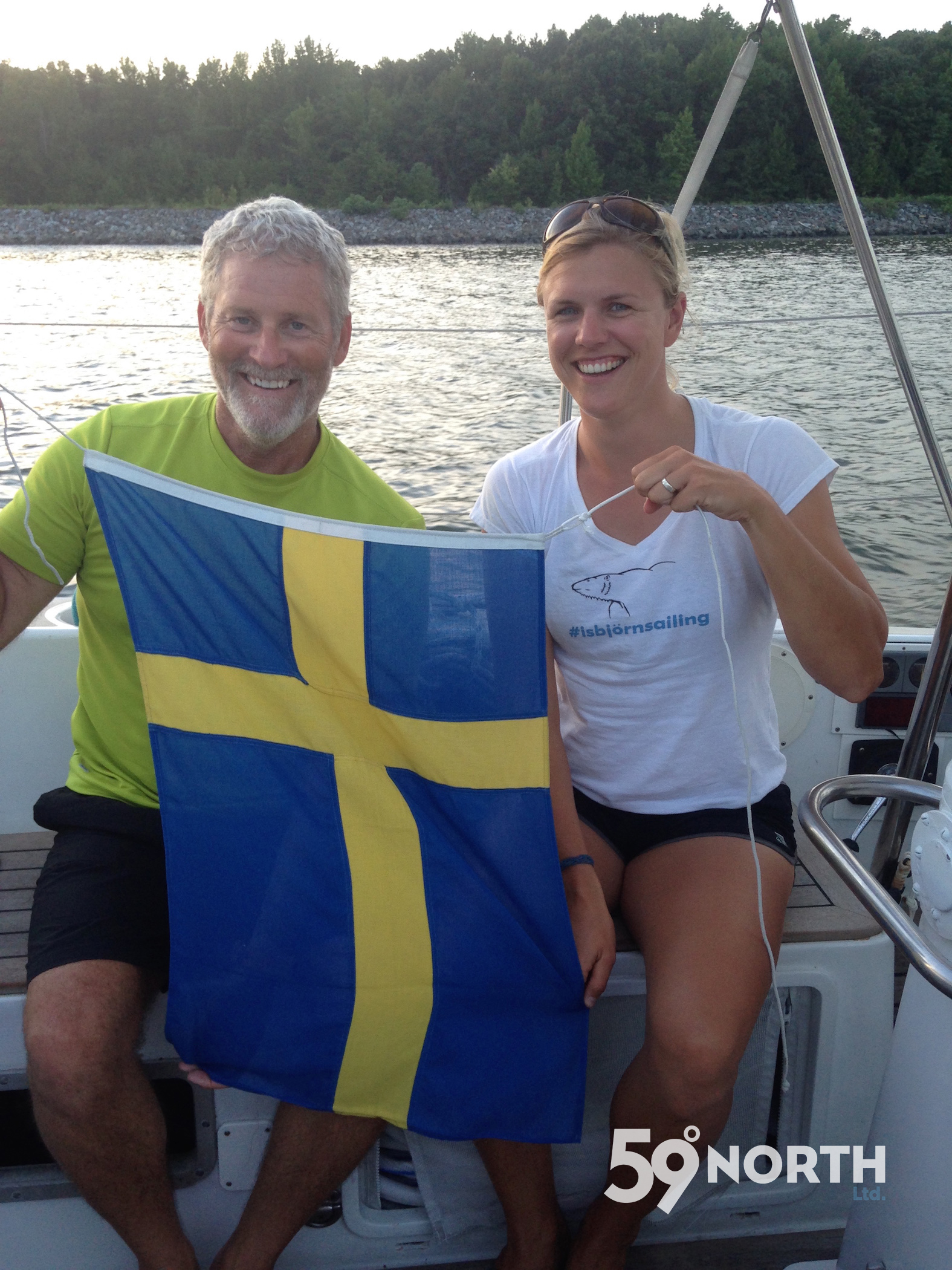 C&D canal on the way back to Annapolis from Lunenburg. Sweden beat USA in women soccer, a happy Mia! Aug.2016