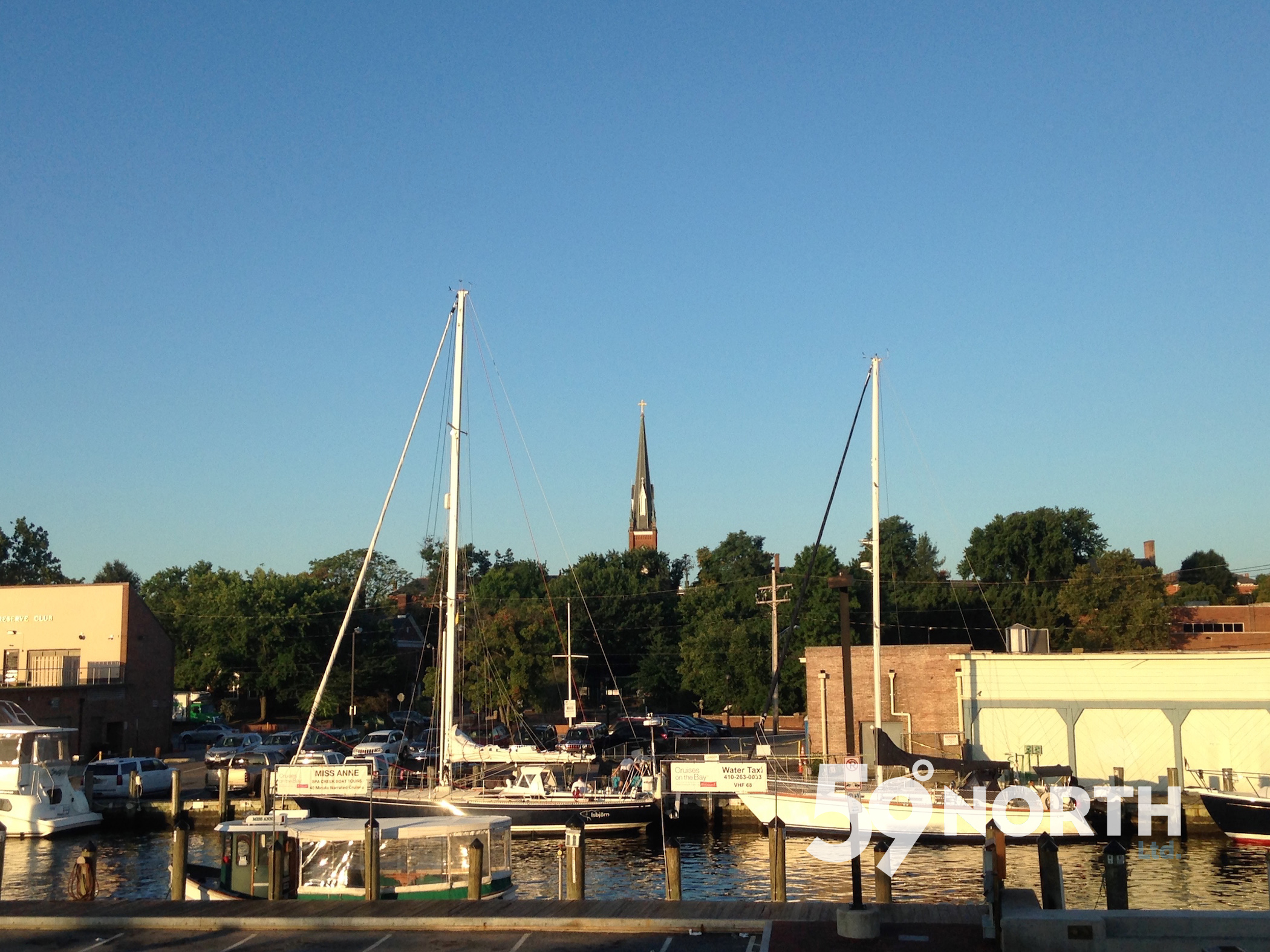 Back in Annapolis again, docked in town after coming down from Canada! Aug. 2016