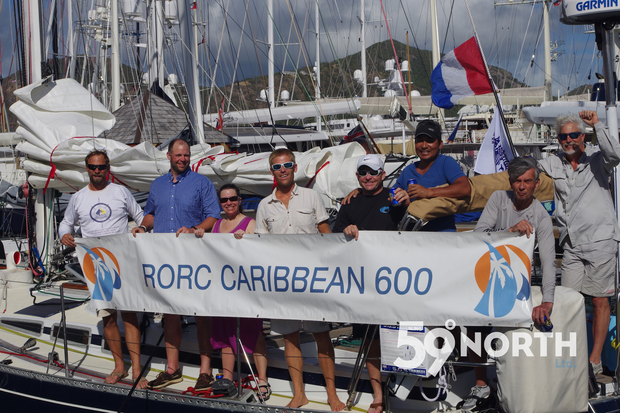 RORC Caribbean 600, unfortunately we had to quit the race after 2/3 of the course du to a leaky rudder. Feb 2016
