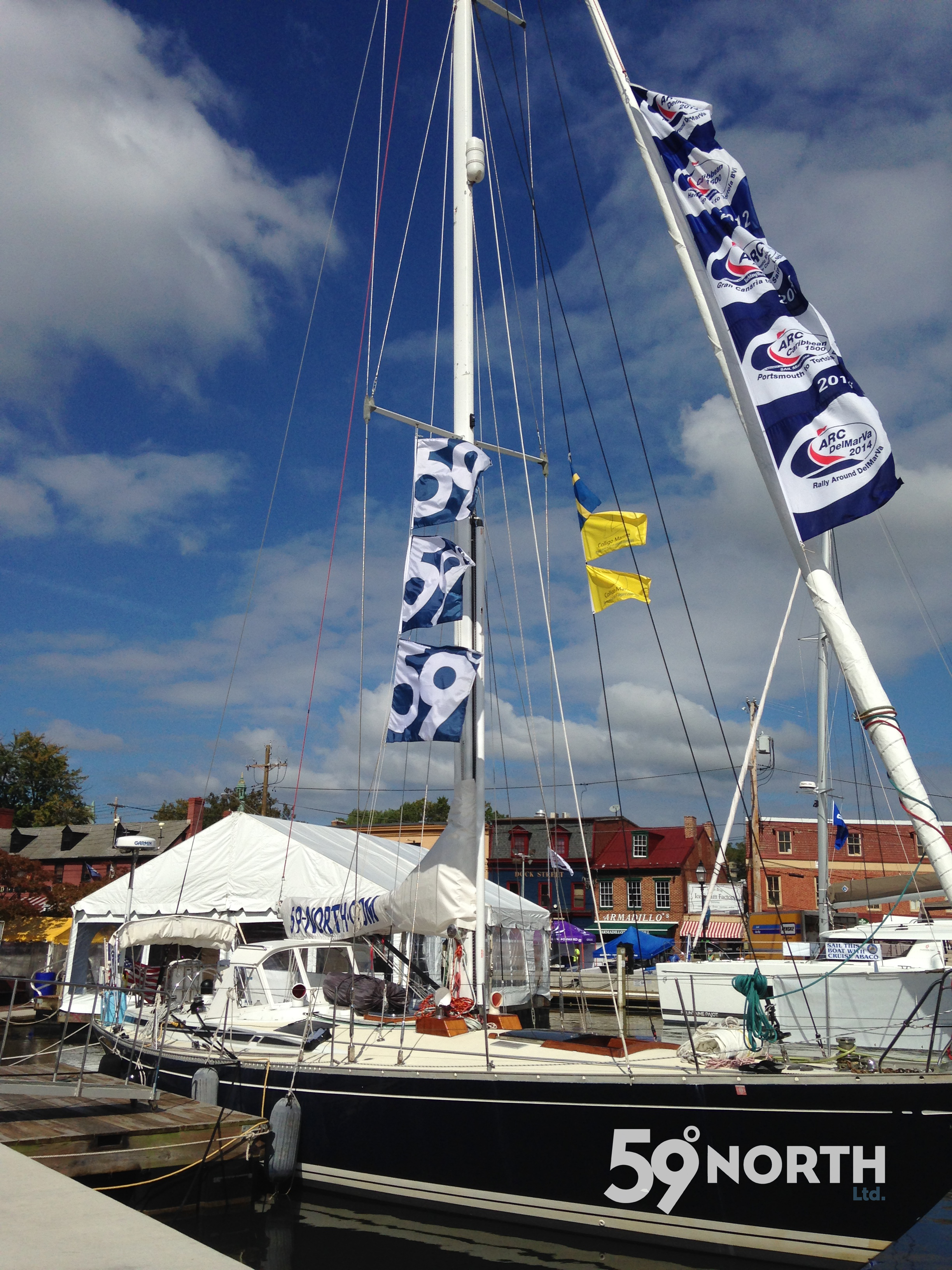 Isbjorn in the Annapolis Boat Show, such a great platform during the show to meet new and old crew and friends! Oct 2016