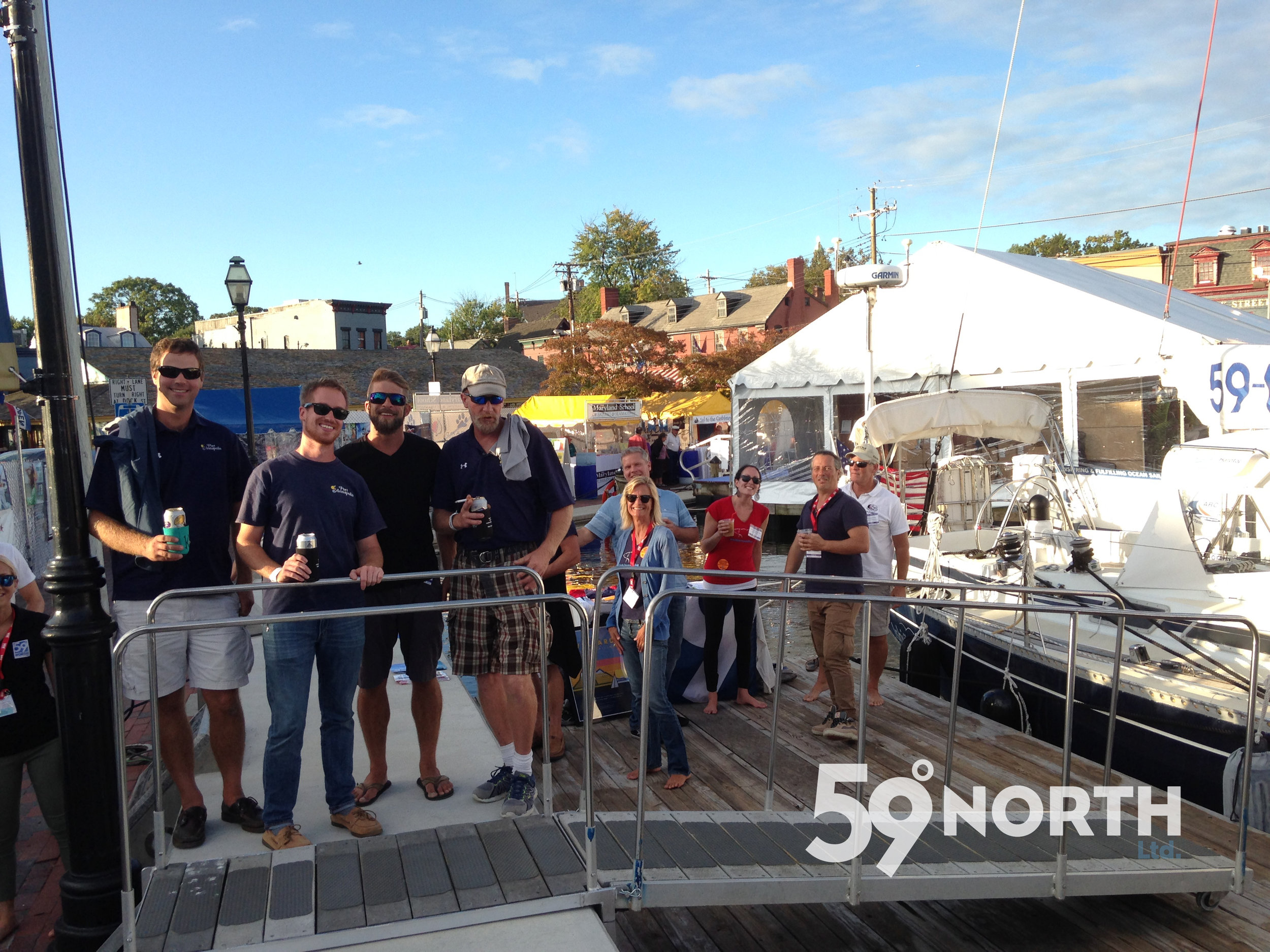 Another 2016 highlight was to have Isbjorn in the Annapolis Boat Show, basically a 5 day whirlwind of fun! Oct. 2016