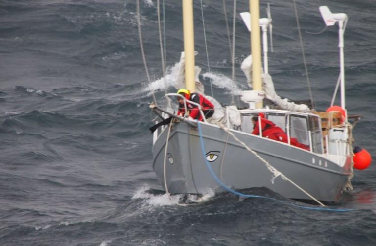 Matt Rutherford / Ocean Research Project - www.oceanresearchproject.com