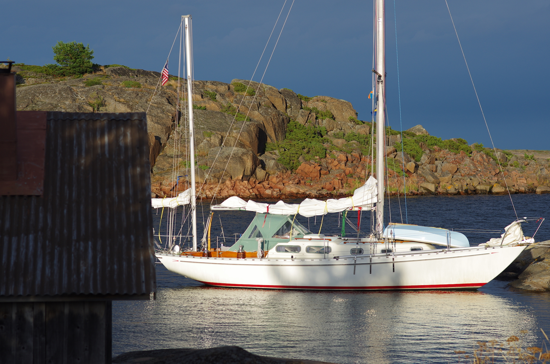 Cruising the Swedish and Finish Arcipelago for a couple of summers on Arcturus