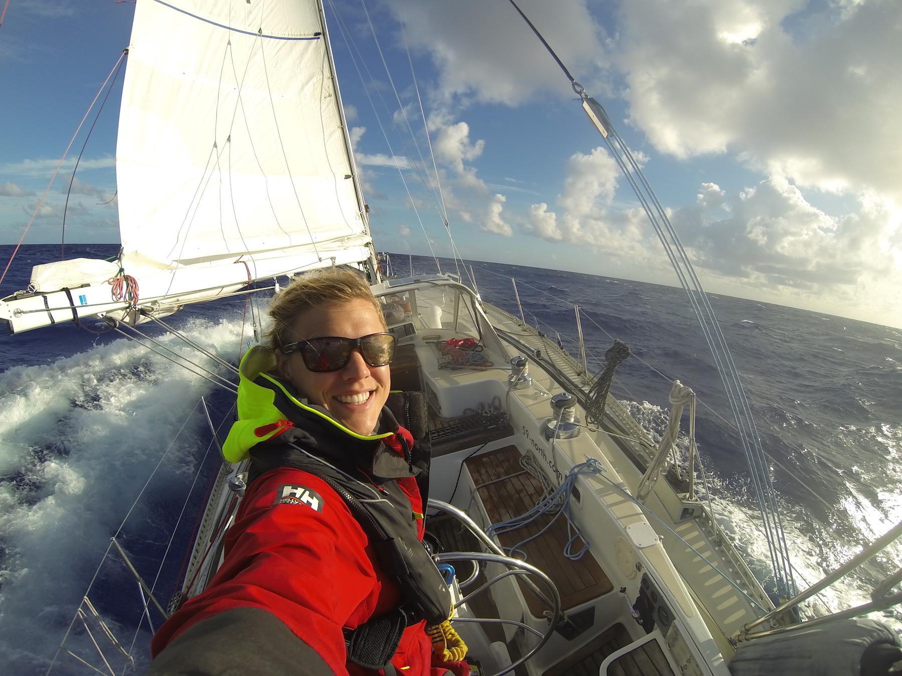 Sailing south... Nov 2016