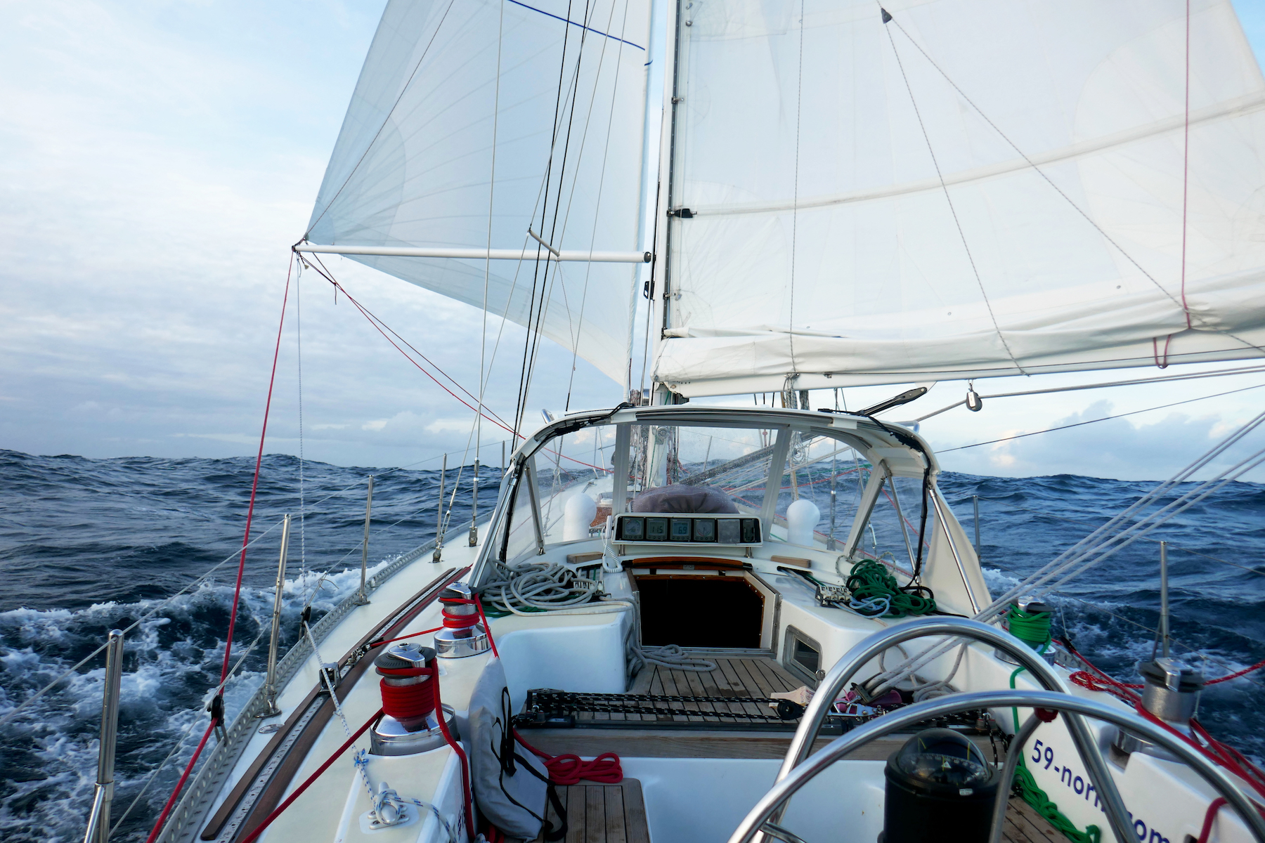 Sailing across the Atlantic! Summer 2017