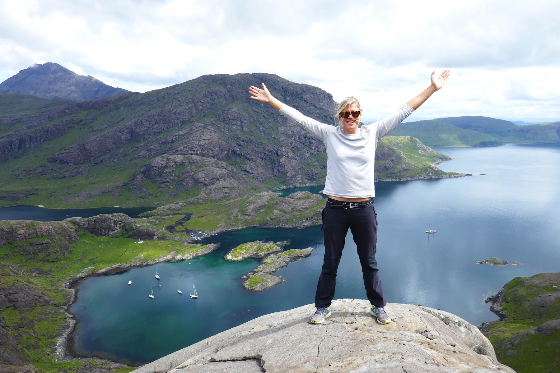 Hiking in Scotland! July 2017