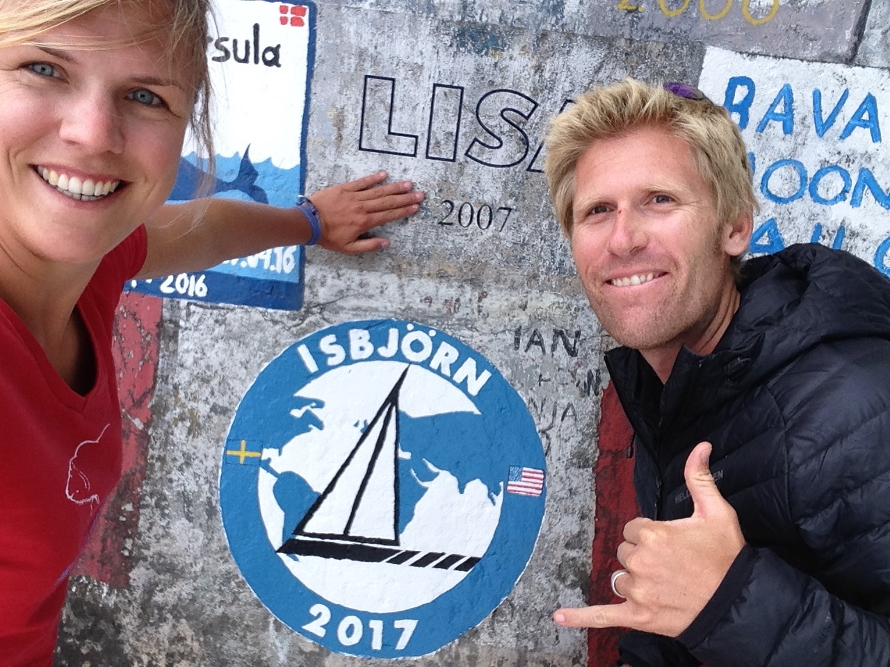 Making our mark in the Azores. Summer 2017