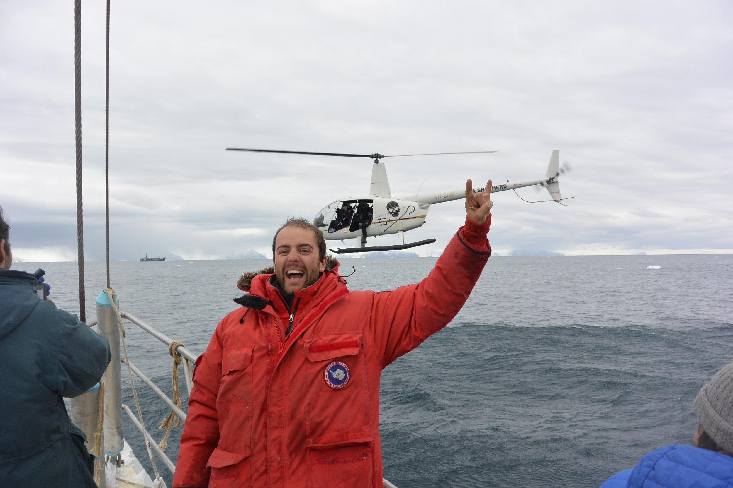 with sea shepherd, japanese whalers in background.JPG
