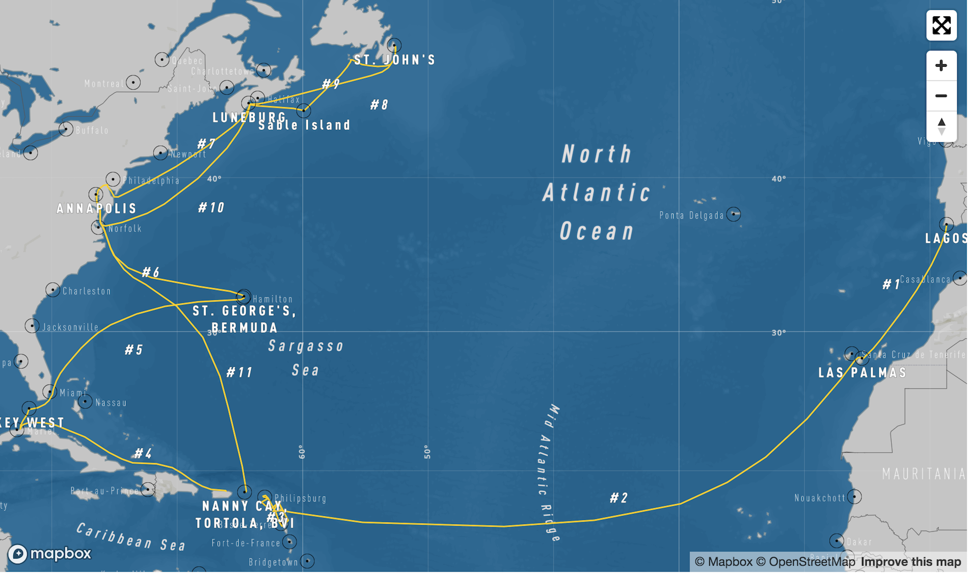 2019 - Tradewinds, Caribbean & Newfy