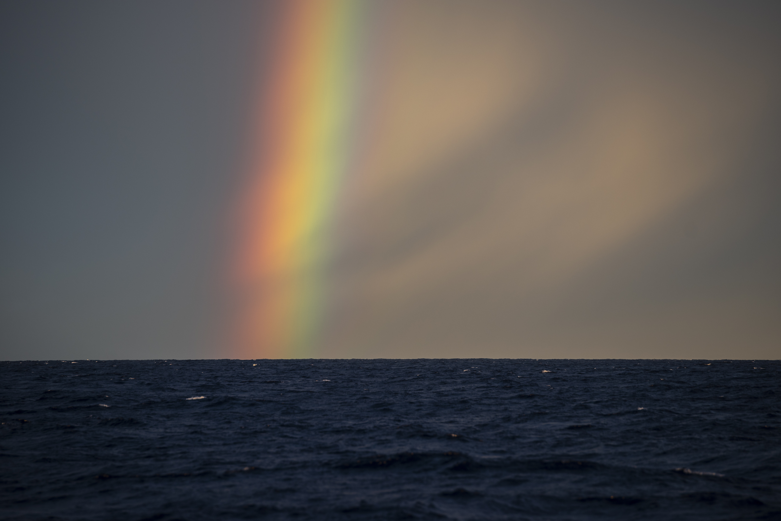 Natural beauty at sea always makes me think of my mom. This rainbow came to us just before landfall in Antigua and was even more beautiful in person.