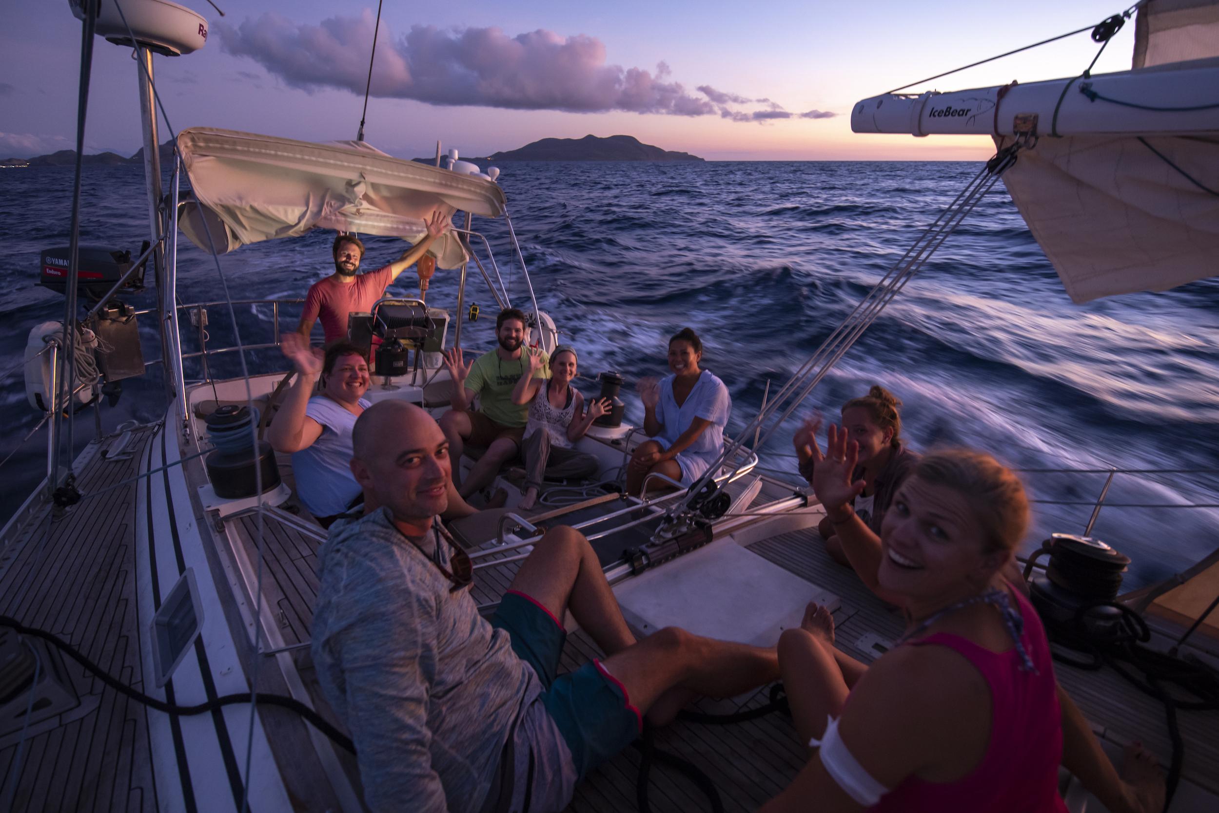 Offshore Sailing Adventures   ICE BEAR // '19 Ile des Saintes, FWI