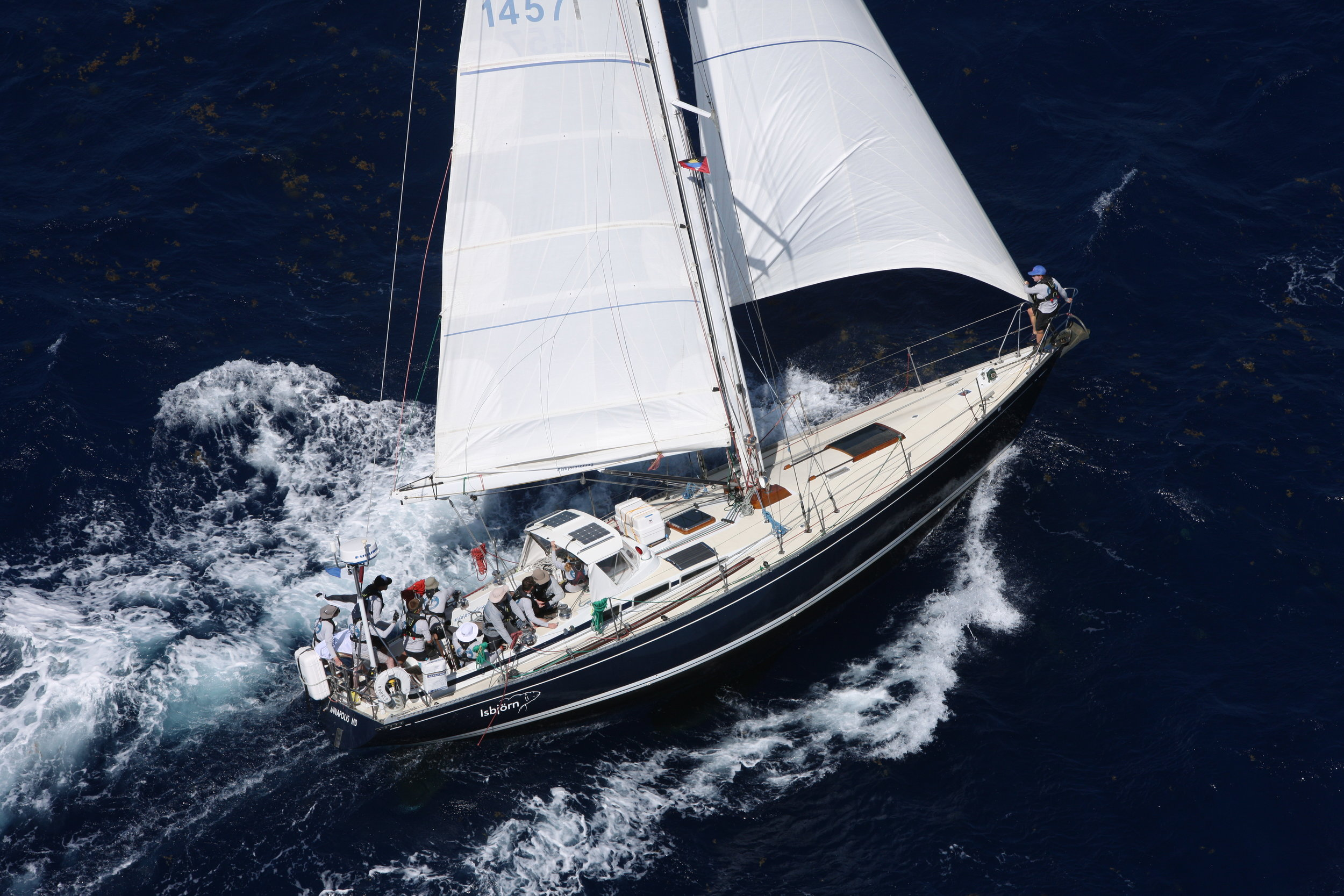 ISBJORN, our S&S Swan 48.