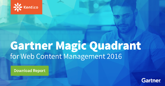 - While Jim Panagas was running their analyst relations program, Kentico Software entered Gartner's Magic Quadrant for Web Content Management (WCM) for the very first time and stayed there for three years in a row. Jim also laid the groundwork that led to Kentico's first appearance in the Forrester Wave for WCM.