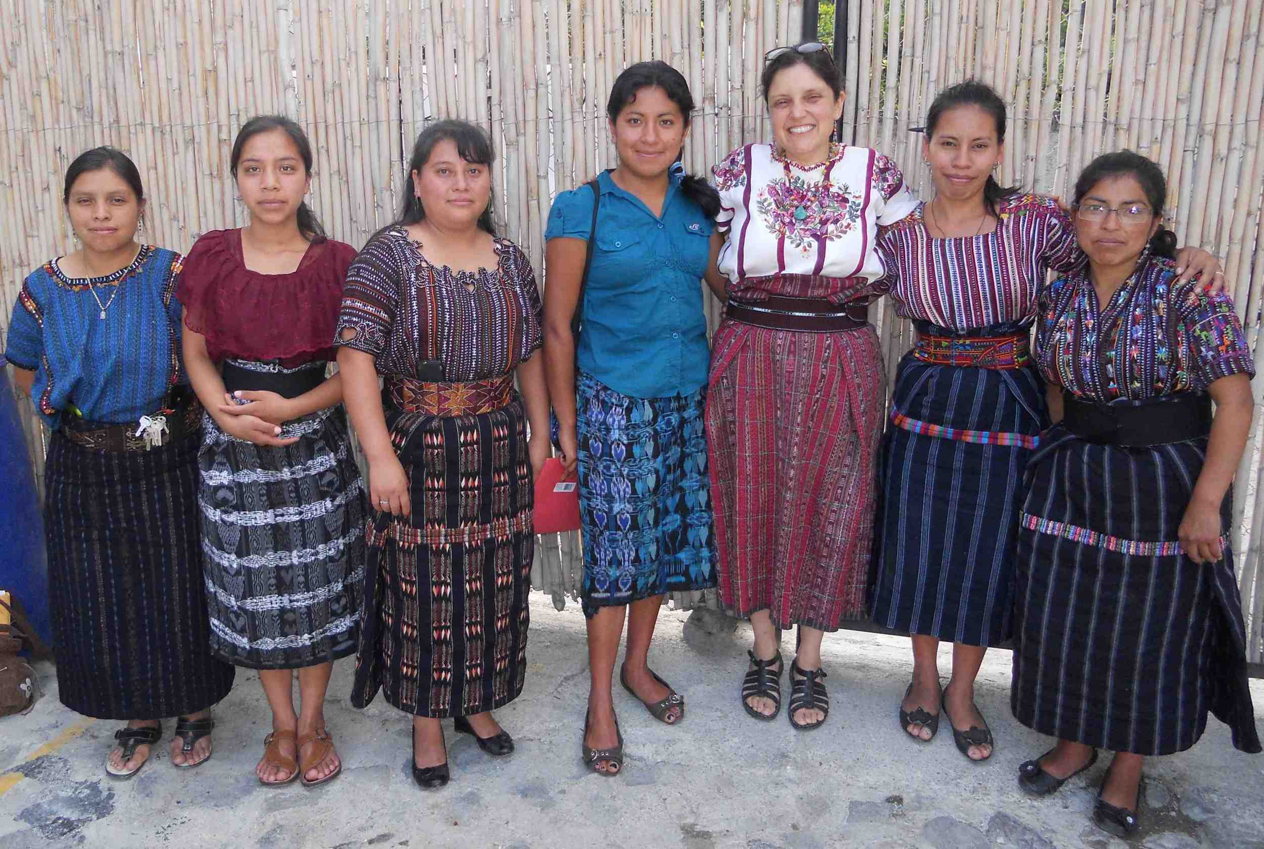Luz Elena with Teachers who graduated from a Trauma Release course at MF low res.jpg