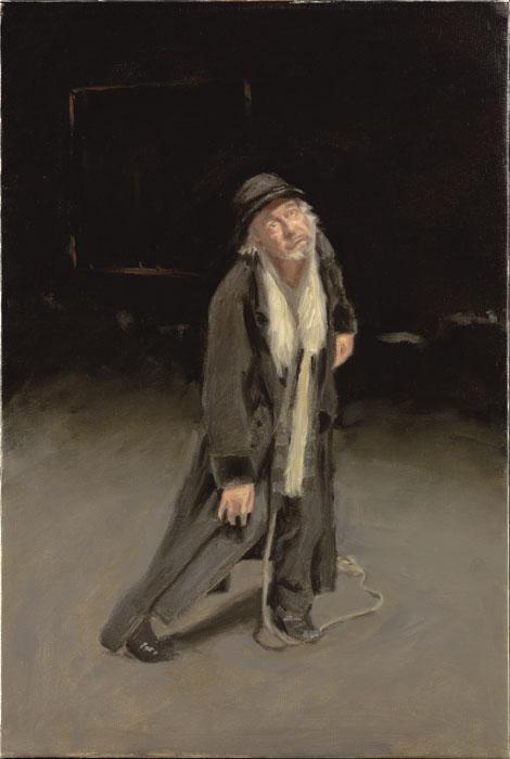Lucky, Oil on Canvas, 65 x 45cm, 2009