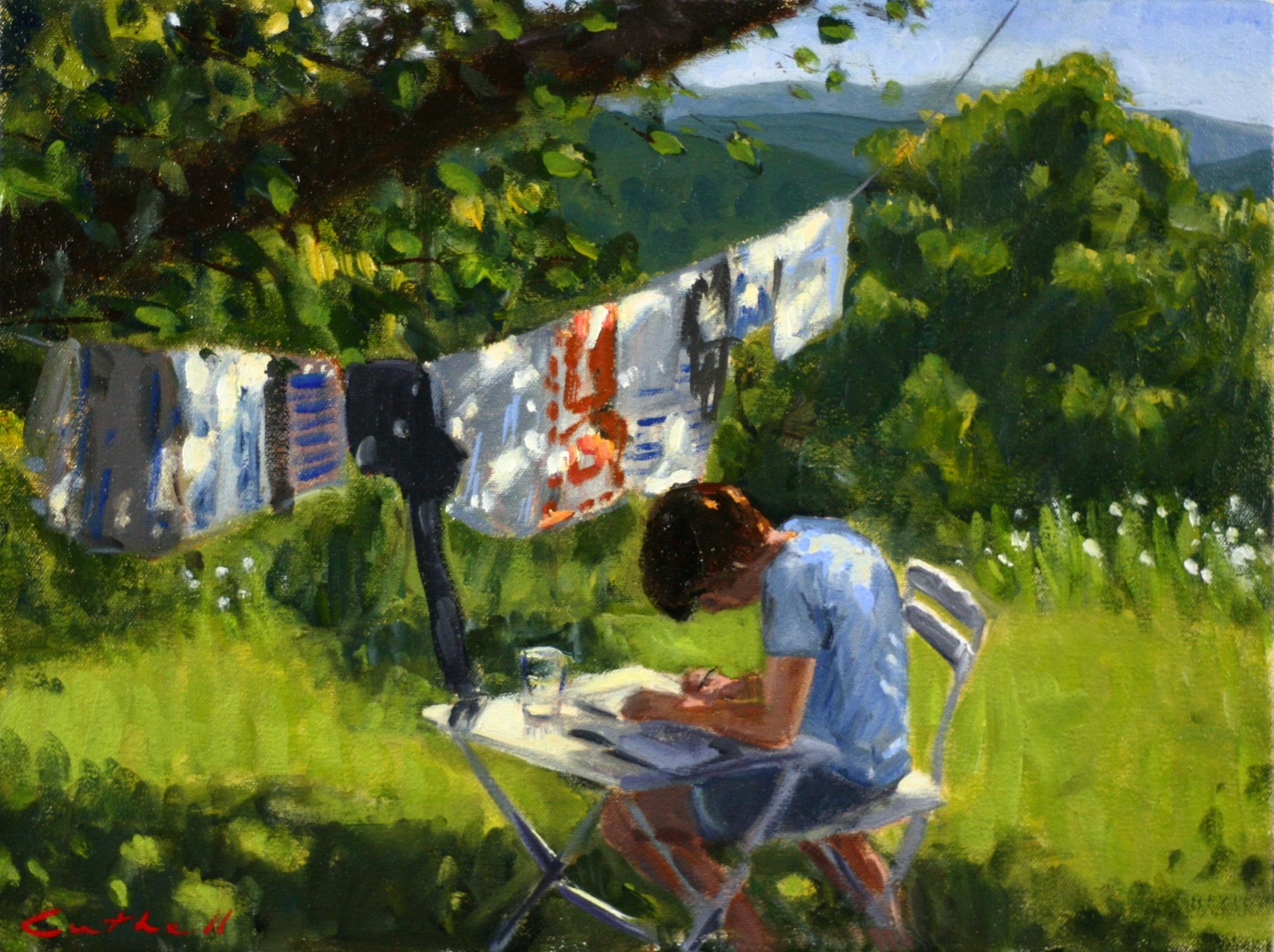 The Scholar, Oil on Canvas, 30 x 40cm, 2014