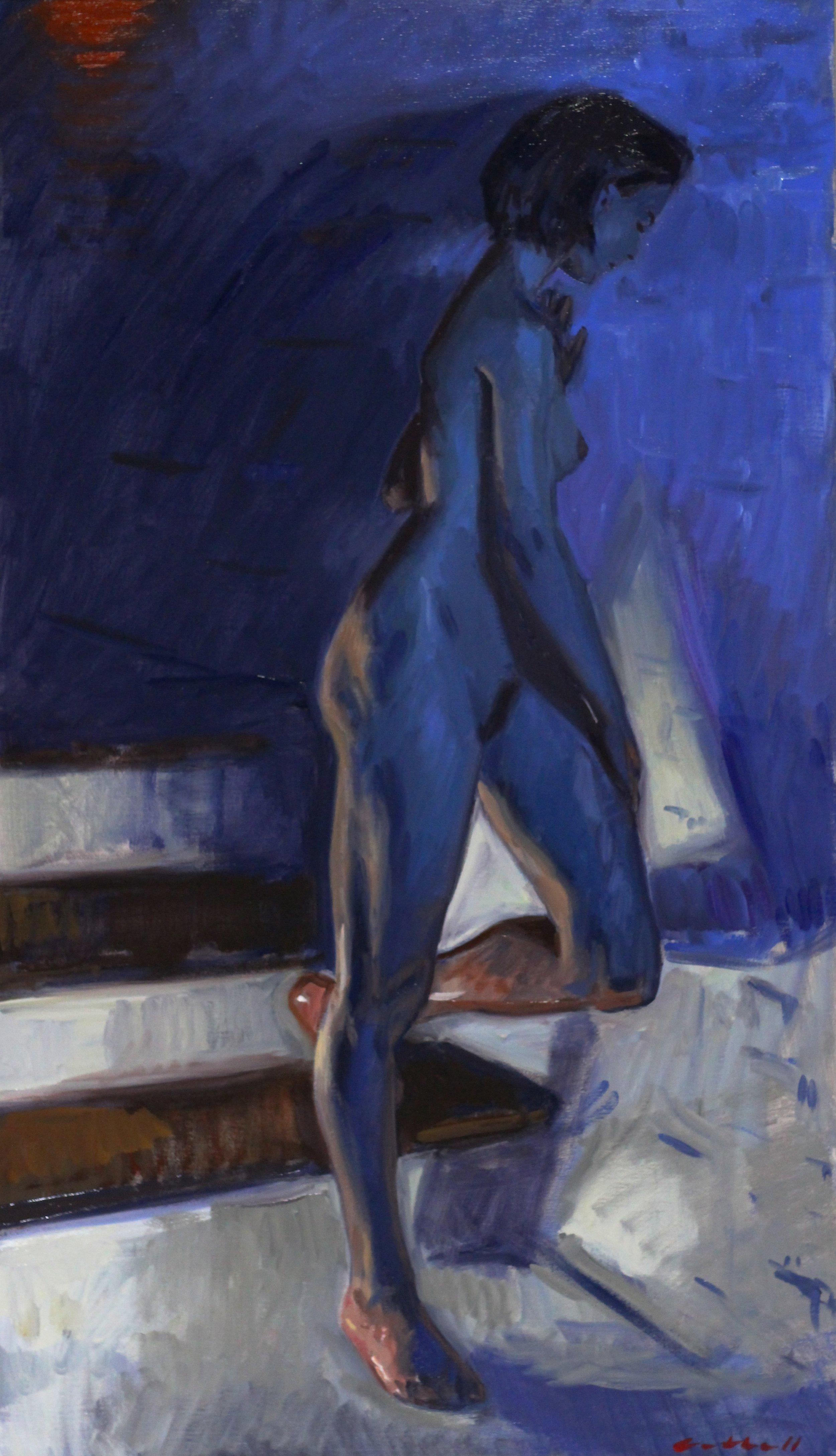 Chiara, Oil on Canvas, 105 x 60cm, 2017