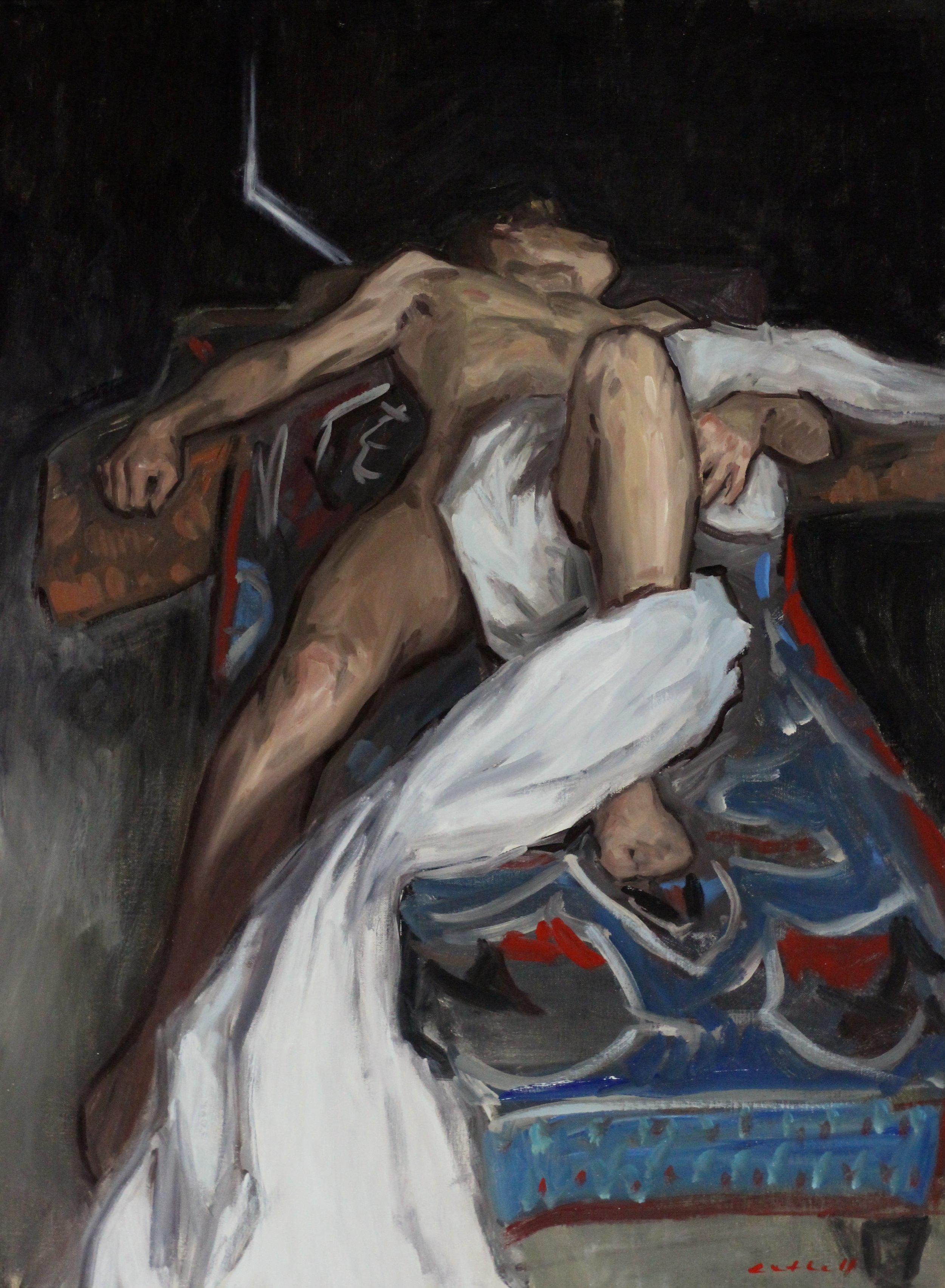 Henrik, Oil on Canvas, 80 x 60cm, 2017