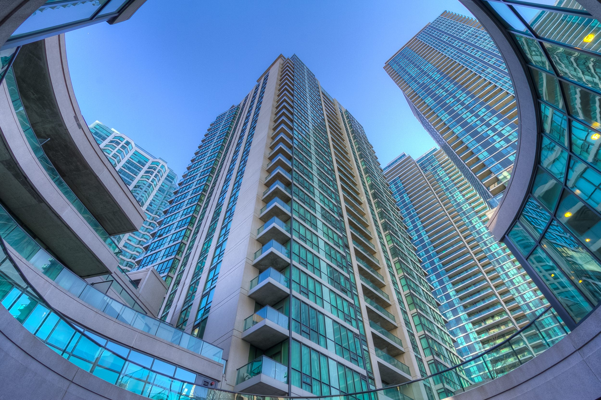 SUITE 402 AT 12 YONGE STREET - LIVE INSPIRED AT THE PINNACLE CENTRE TORONTO