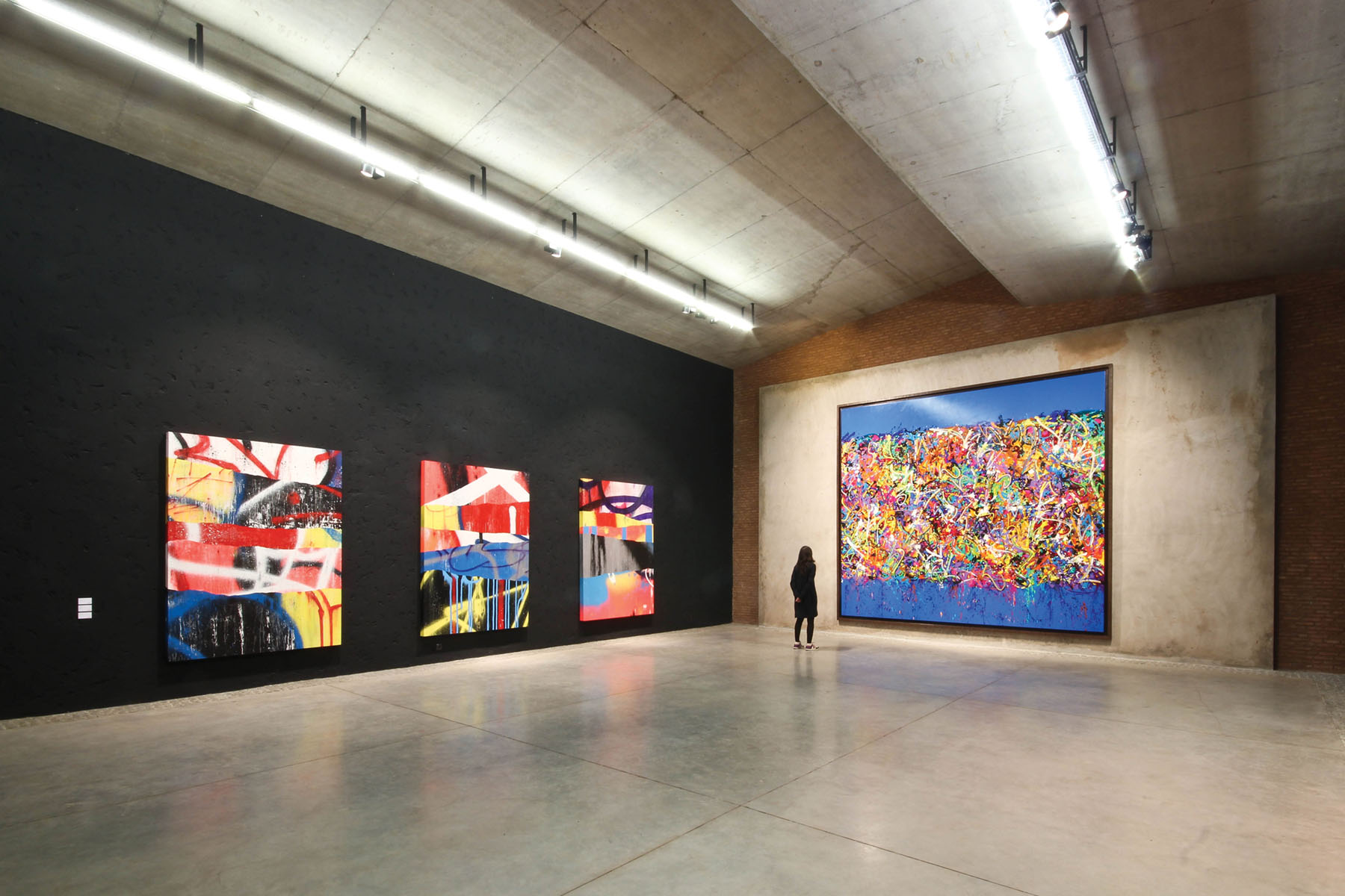 Montresso foundation contemporary art space highlights street artists like FeX, JonOne and Cedrix Crespel