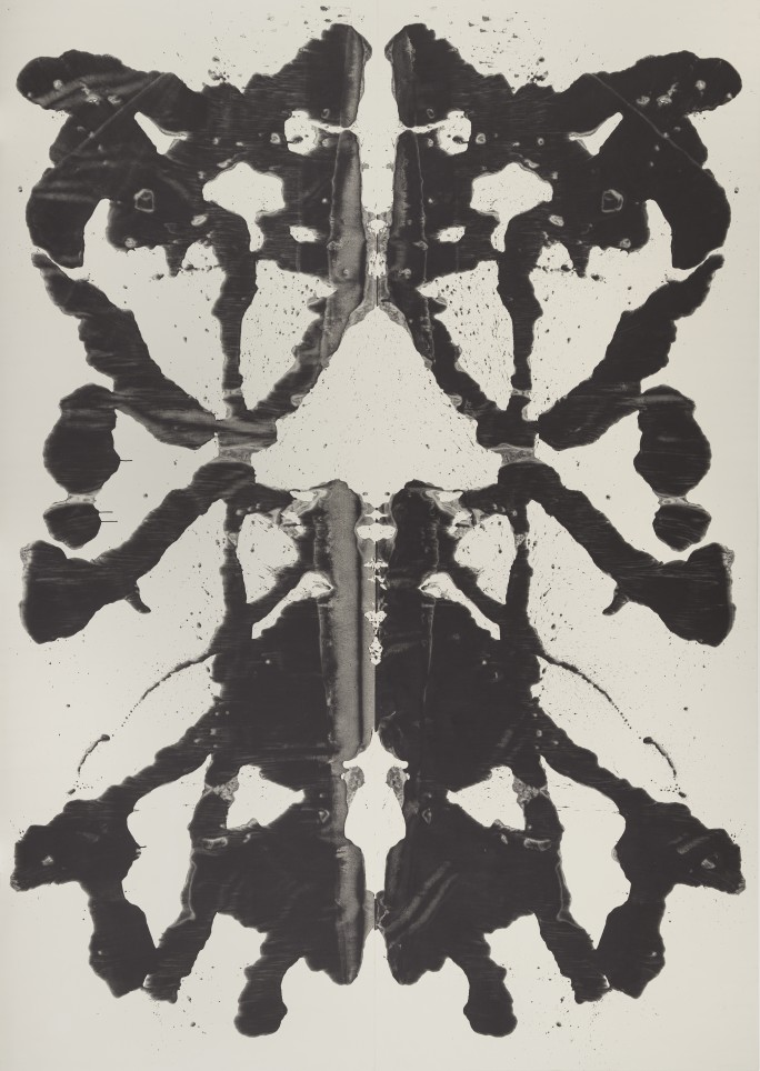 Andy Warhol,  Rorschach , 1984. © The Andy Warhol Foundation for the Visual Arts, Inc. / Artists Rights Society (ARS) New York