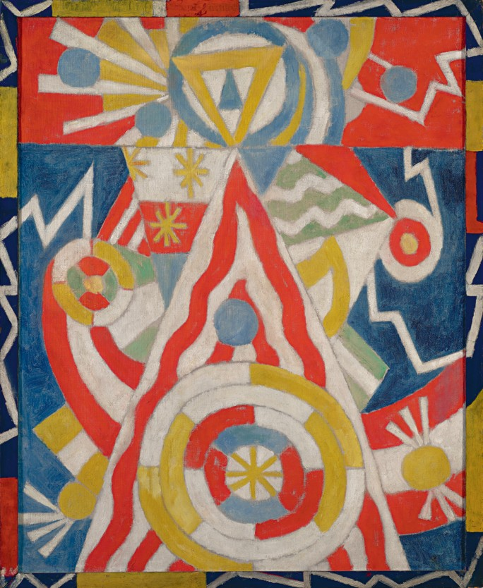 Marsden Hartley,  Pre-War Pageant   ,  1913