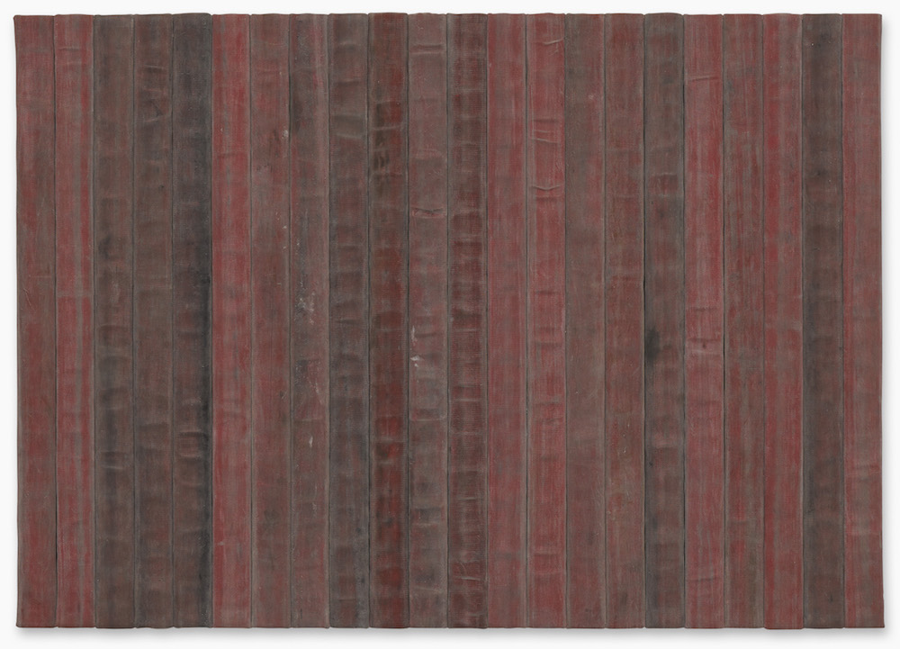 Theaster Gates,  A Flag for the Least of Them  (2018). Courtesy the artist and Sotheby's.