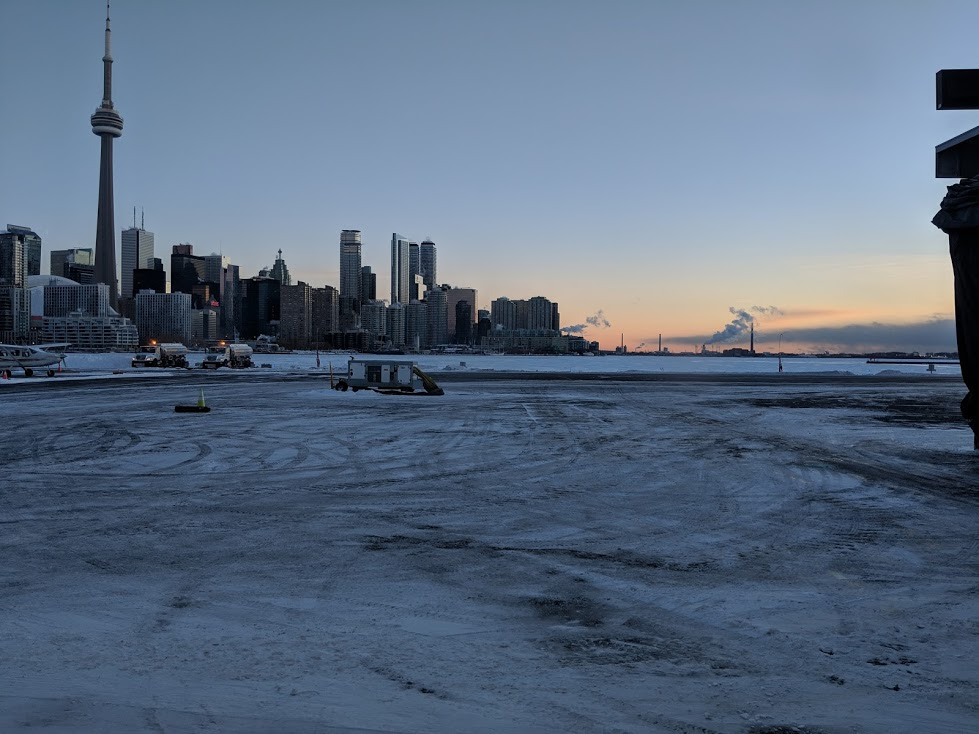 Photo taken from The Toronto Island Airport