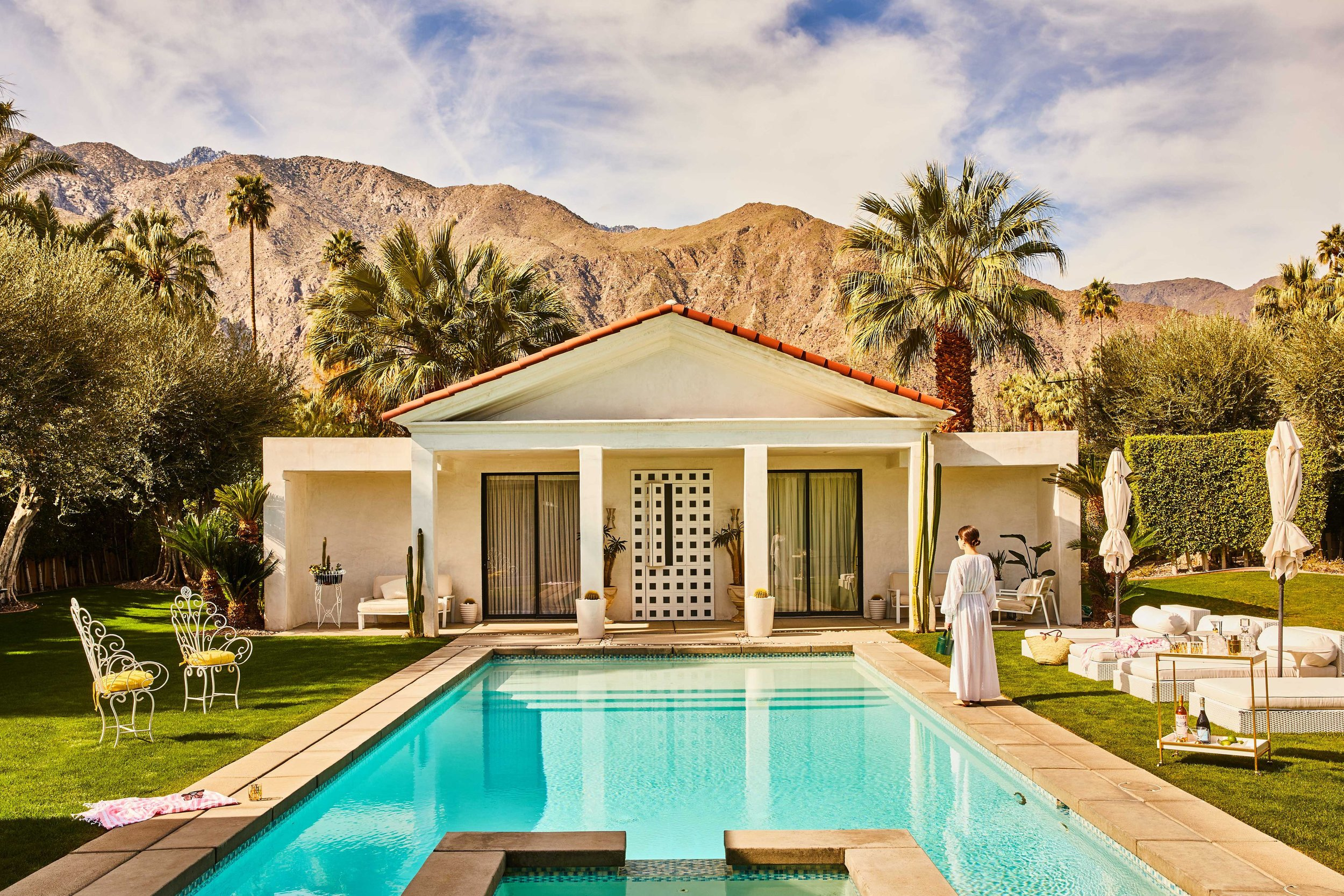 How to Bring Old Hollywood Into Your Home - Take a cue from the desert haven where Marilyn Monroe, Frank Sinatra and Elvis Presley went to unwind.