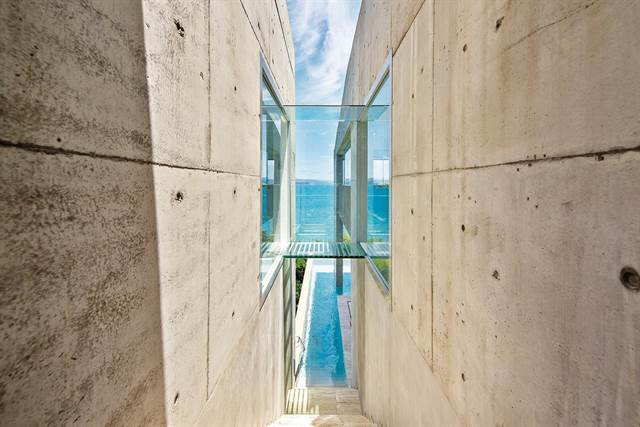 - This Brutalist-style home in Australia, which was asking A$15 million, has sold.