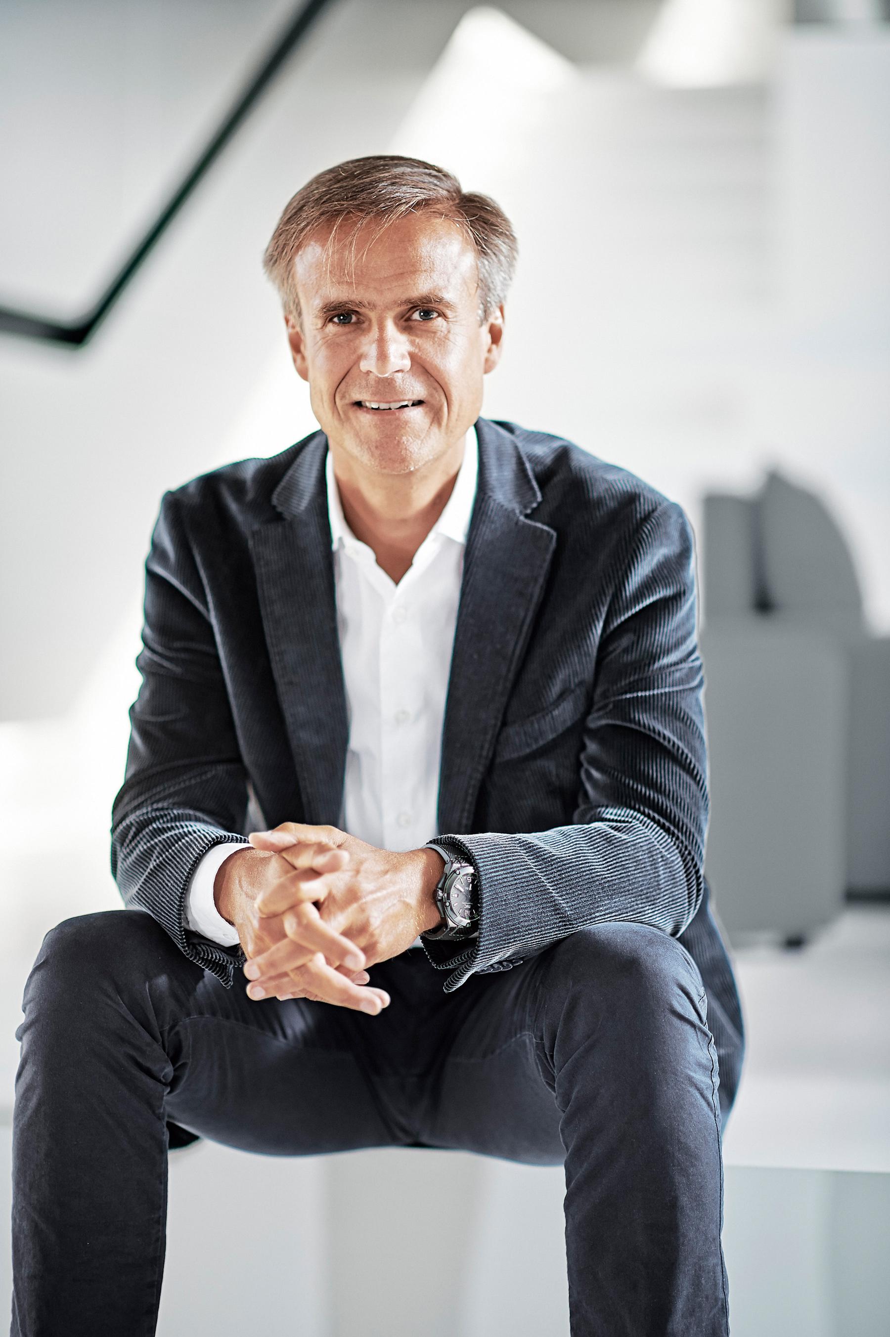 Michael Mauer, head of Porsche's design department