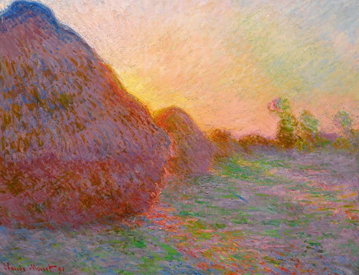 The most expensive Impressionist work ever auctioned: Claude MonetMeules(1890) sold for $110m at Sotheby's. Courtesy Sotheby's