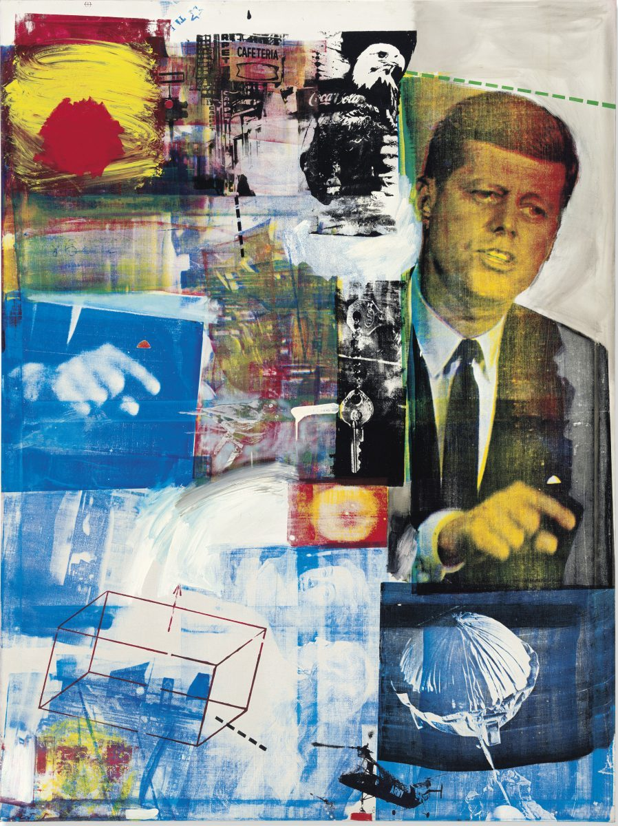 This masterwork by Robert Rauschenberg,Buffalo II(1925-2008) led one major curator to ask, via an Instagram post, for it to be donated to their museum. Fresh to market from the Robert B. and Beatrice C. Mayer Family Collection, it sold for $88.8m at Christie's. Christie's Images Ltd. 2019