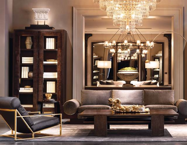 The company, which opened in 1979, is known for luxe weathered antique-style furnishings, lighting, and accessories.